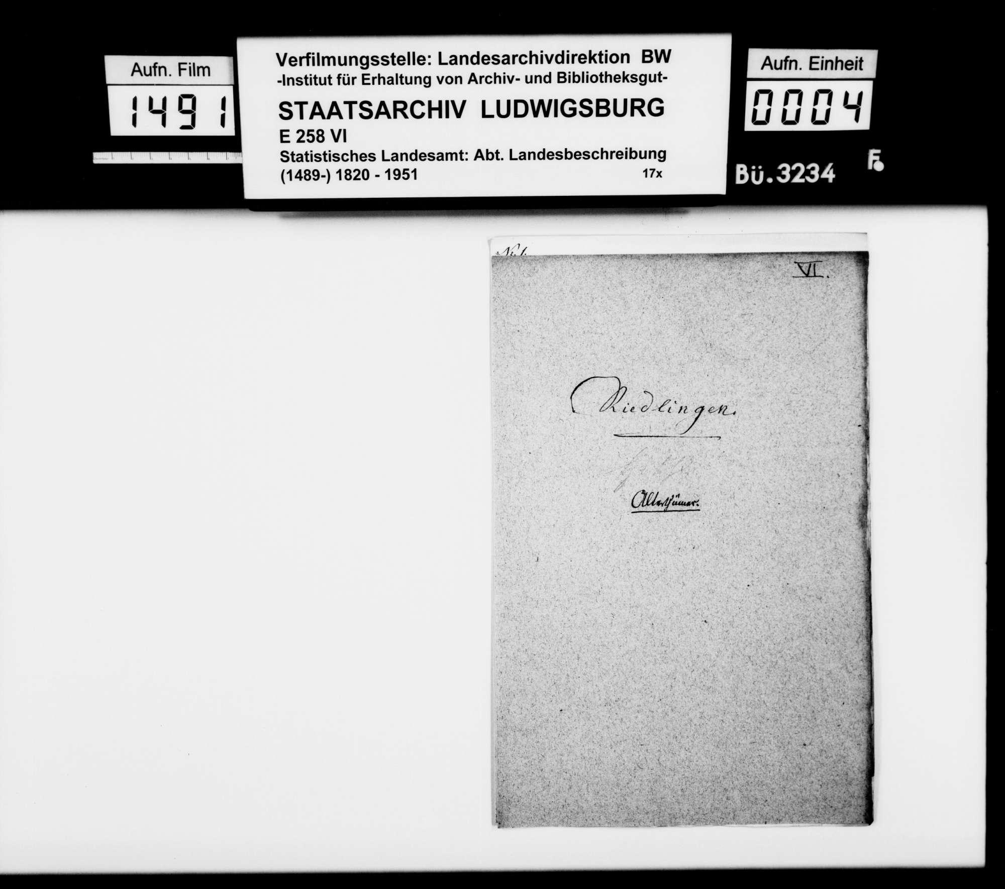 Historisches Material zum und aus dem Kloster Heiligkreuztal, zu den Grafen von Achalm, zu den Grafen von Württemberg-Grüningen-Landau und weiteres, Bild 1