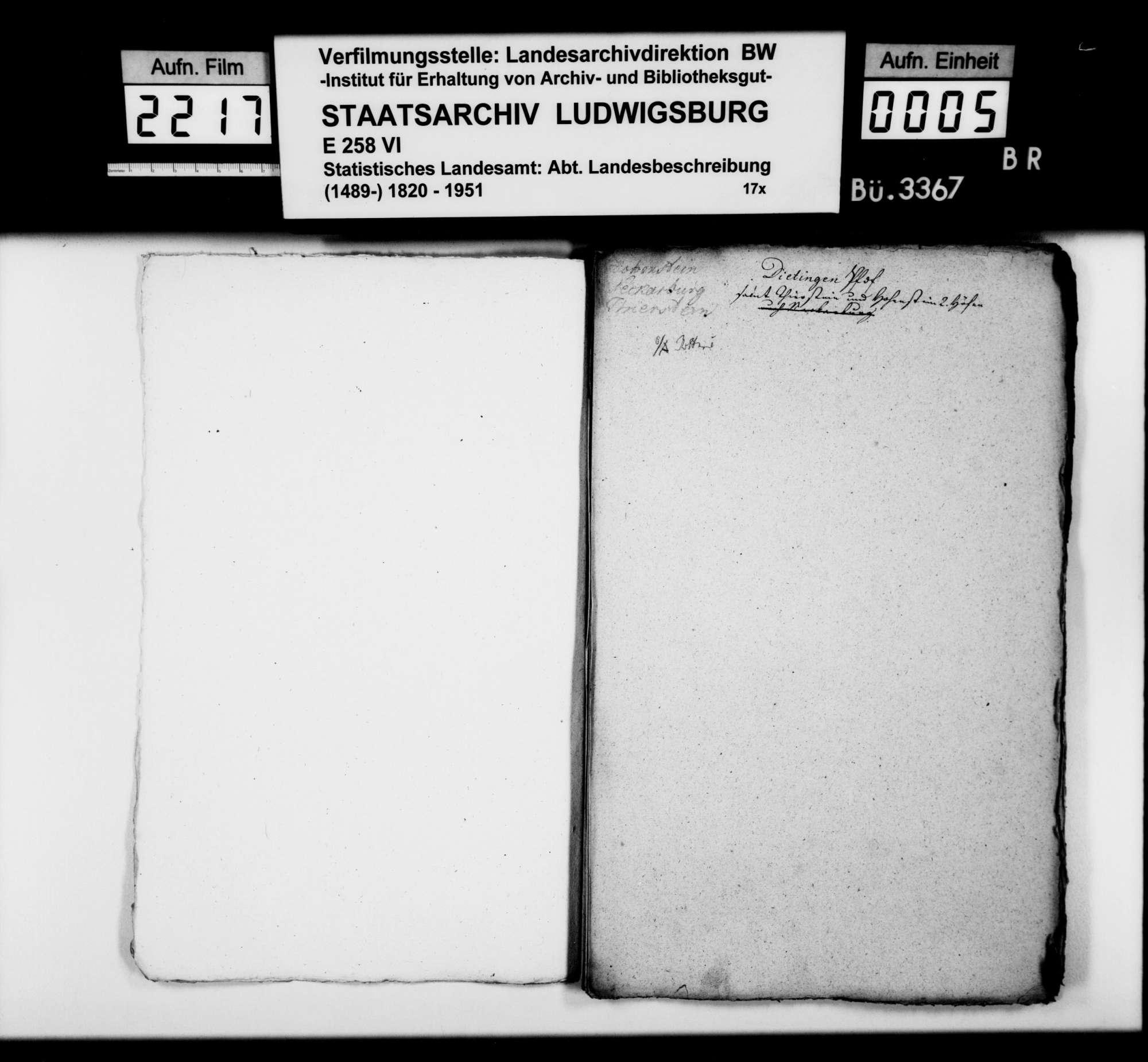 Kollektaneen [aus der Sammlung des Landvogtei-Steuerrats Heinrich Zeller aus Rottweil] zur Geschichte zahlreicher Orte im Oberamtsbezirk, Bild 3