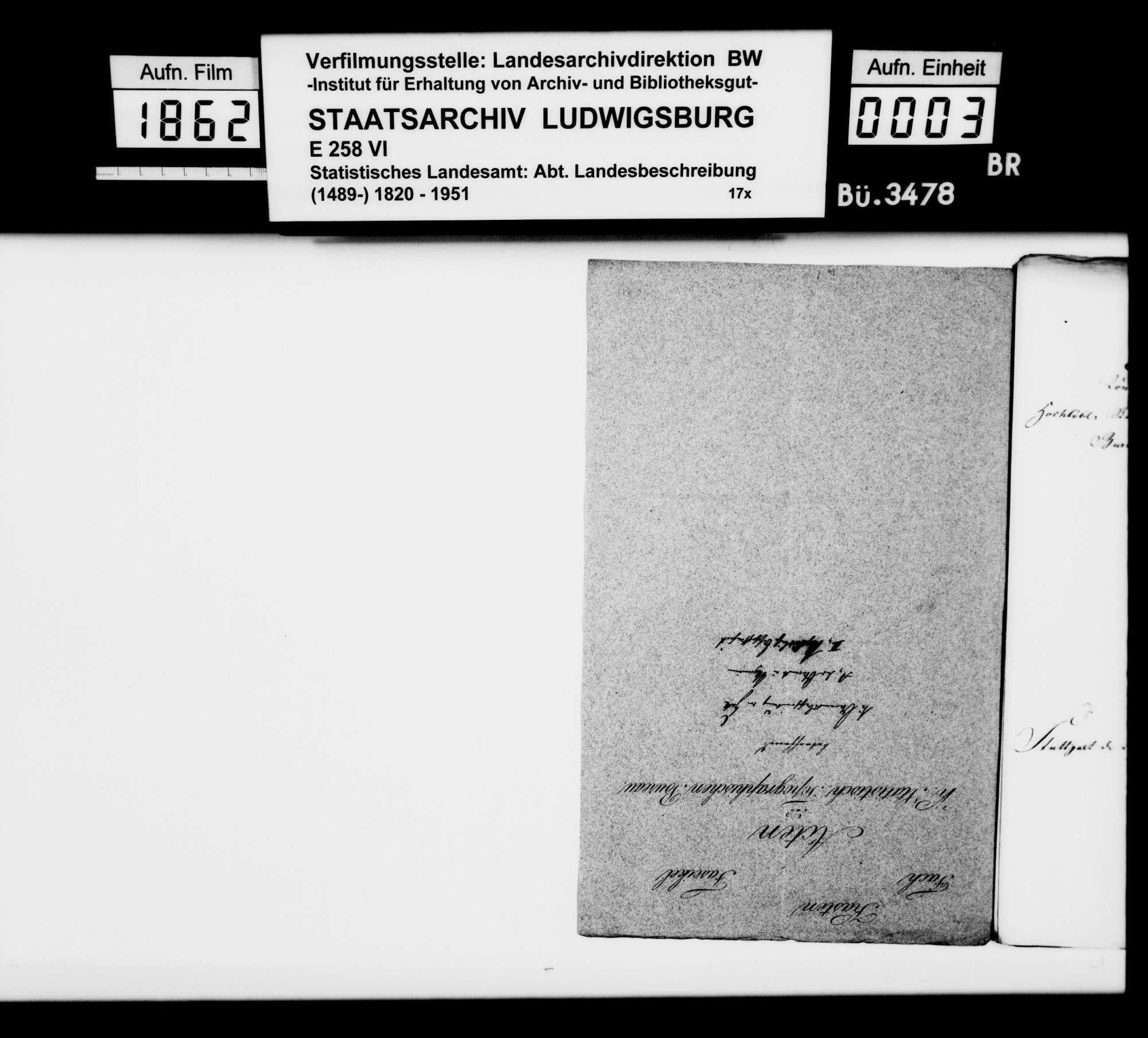 Archäologische Funde und Fundberichte aus dem Oberamt, Bild 2