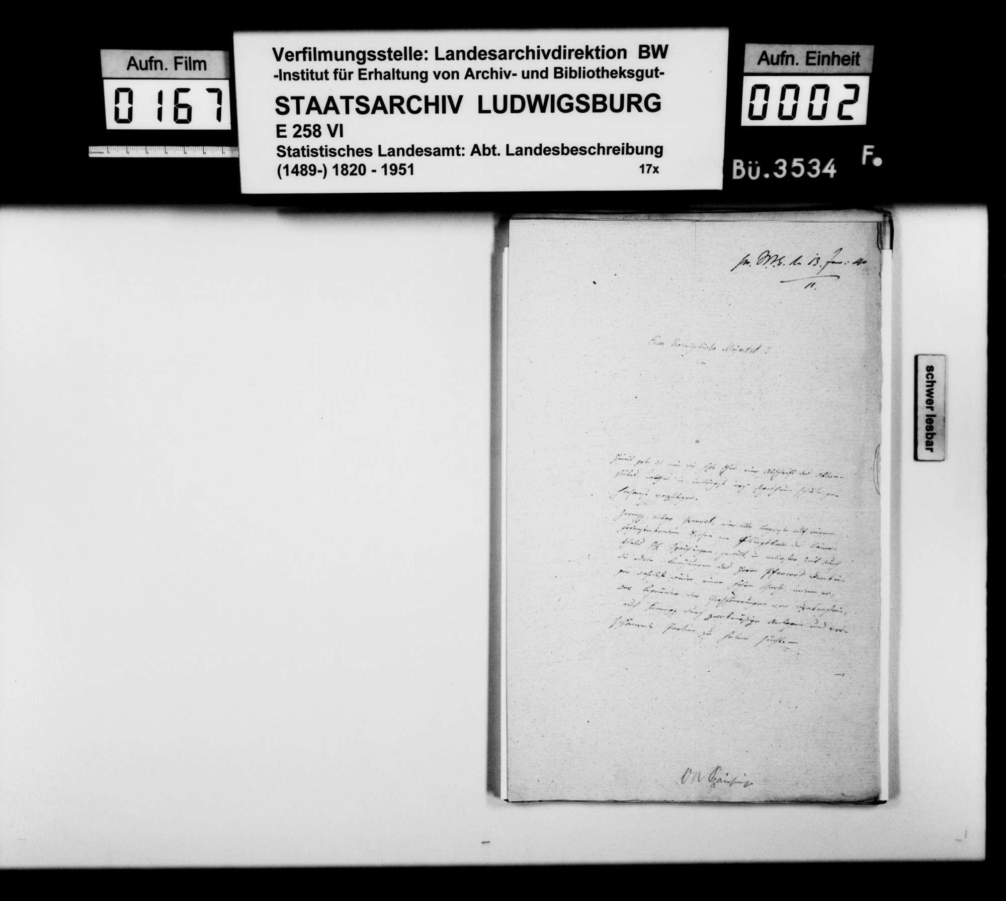Mitteilungen und Berichte des Präzeptors Schefold aus Spaichingen über Bodenfunde, Ruinen u.dgl. in der Region, Bild 1