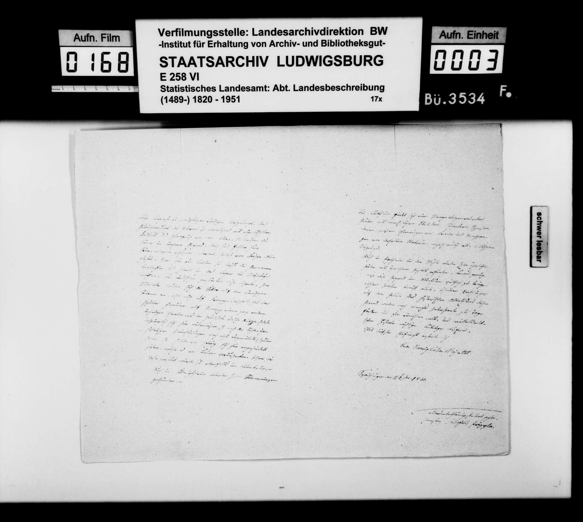 Mitteilungen und Berichte des Präzeptors Schefold aus Spaichingen über Bodenfunde, Ruinen u.dgl. in der Region, Bild 2