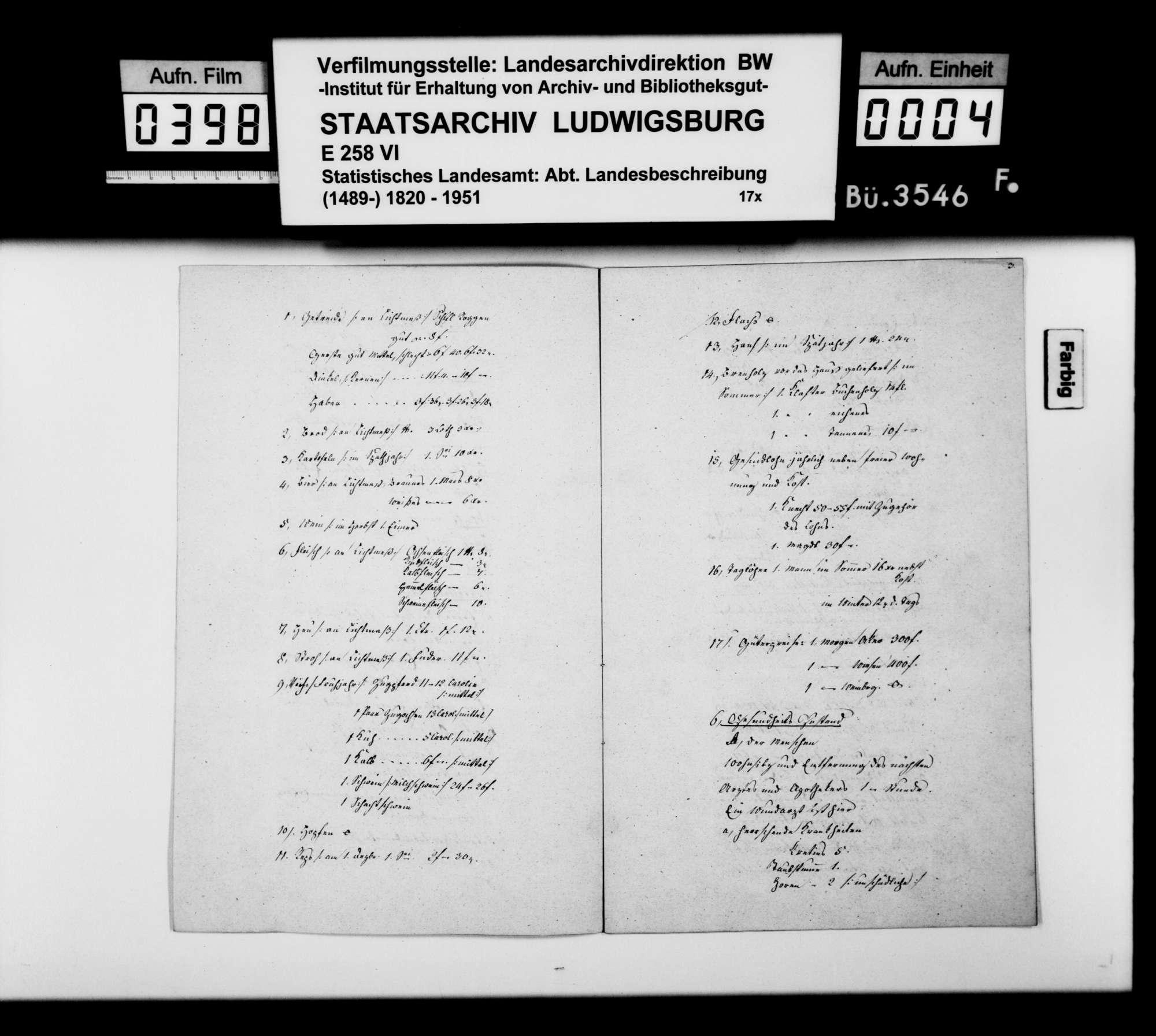 Jahreschronik 1841 von Aldingen, verfaßt von Pfarrer Mögling, Bild 3
