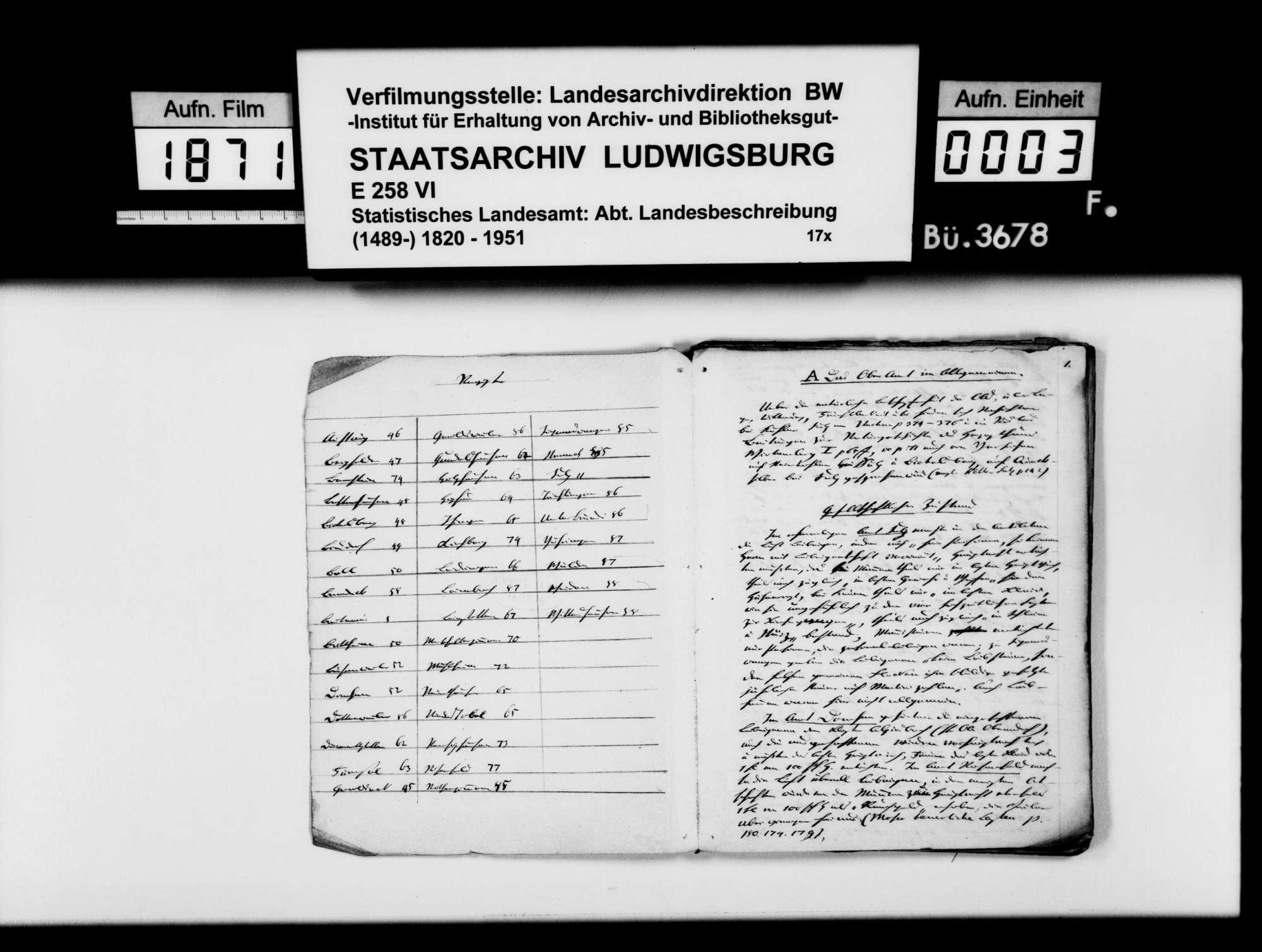 Beiträge des [Esslinger Konrektors] Karl Pfaff zur Beschreibung und Historiographie des Oberamts, Bild 2