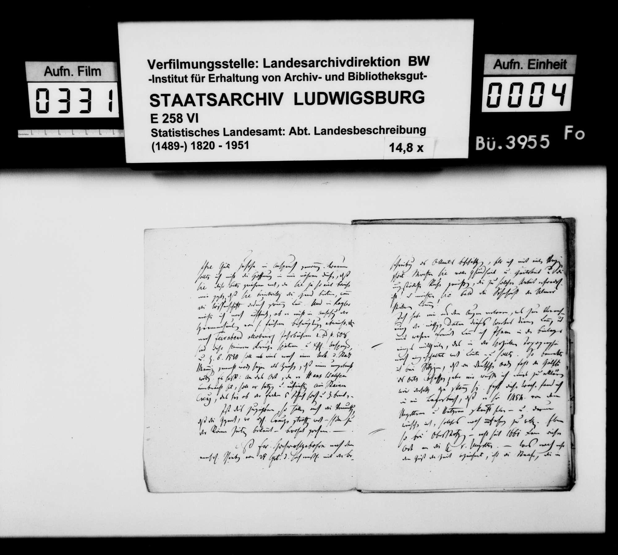 Mitarbeit an der und Auskünfte zur OAB, von Pfarrer Dieterich aus Langenau, Bild 3