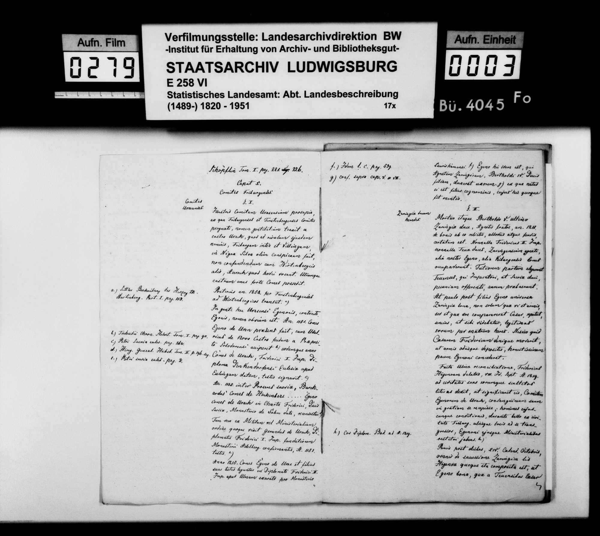 Exzerpte, Auszüge und Abschriften von historischem Material [durch das STB], Bild 2