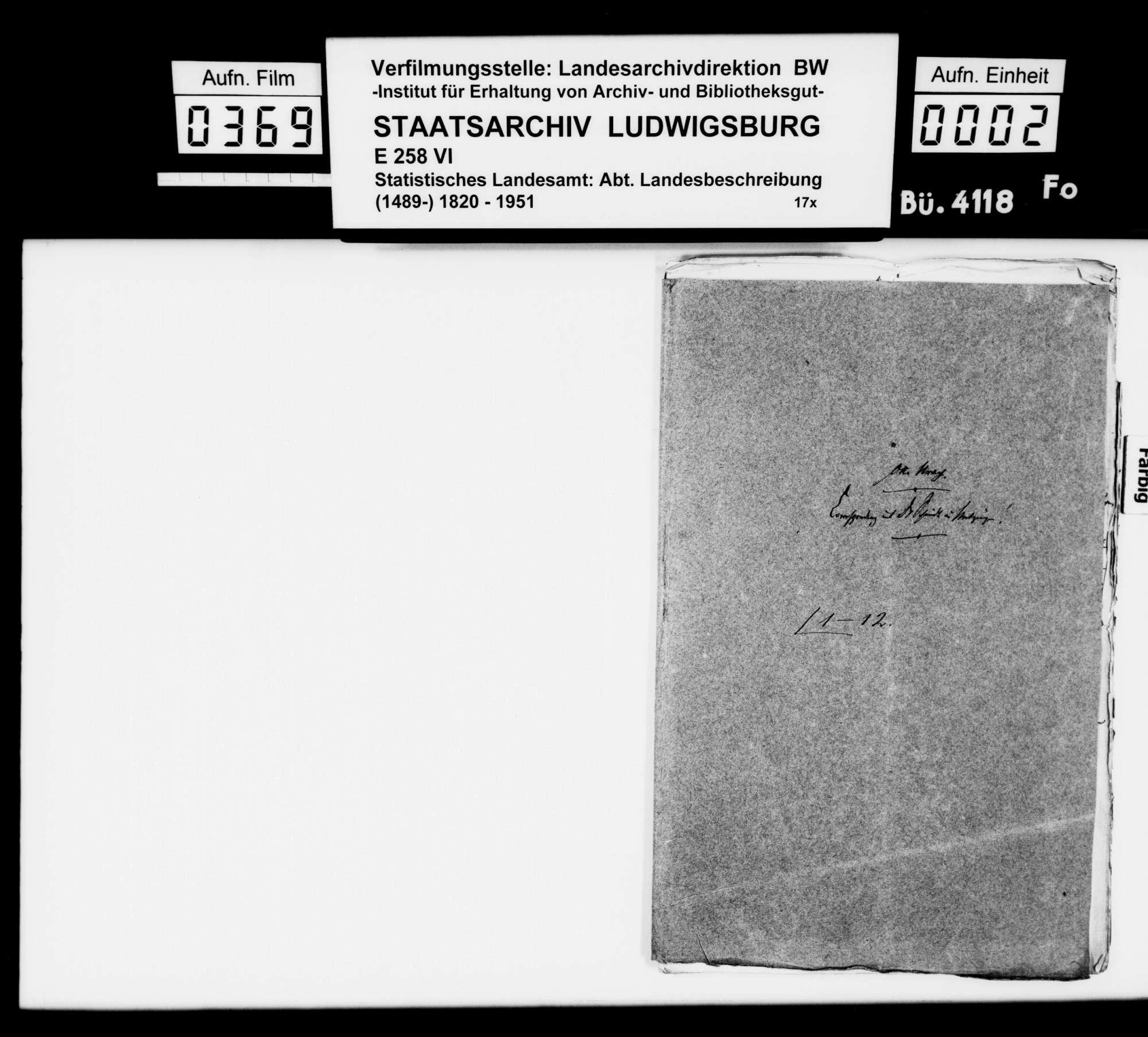 Berichte des Dr. med. Schmidt aus Metzingen über archäologische Grabungen und Funde, Bild 1