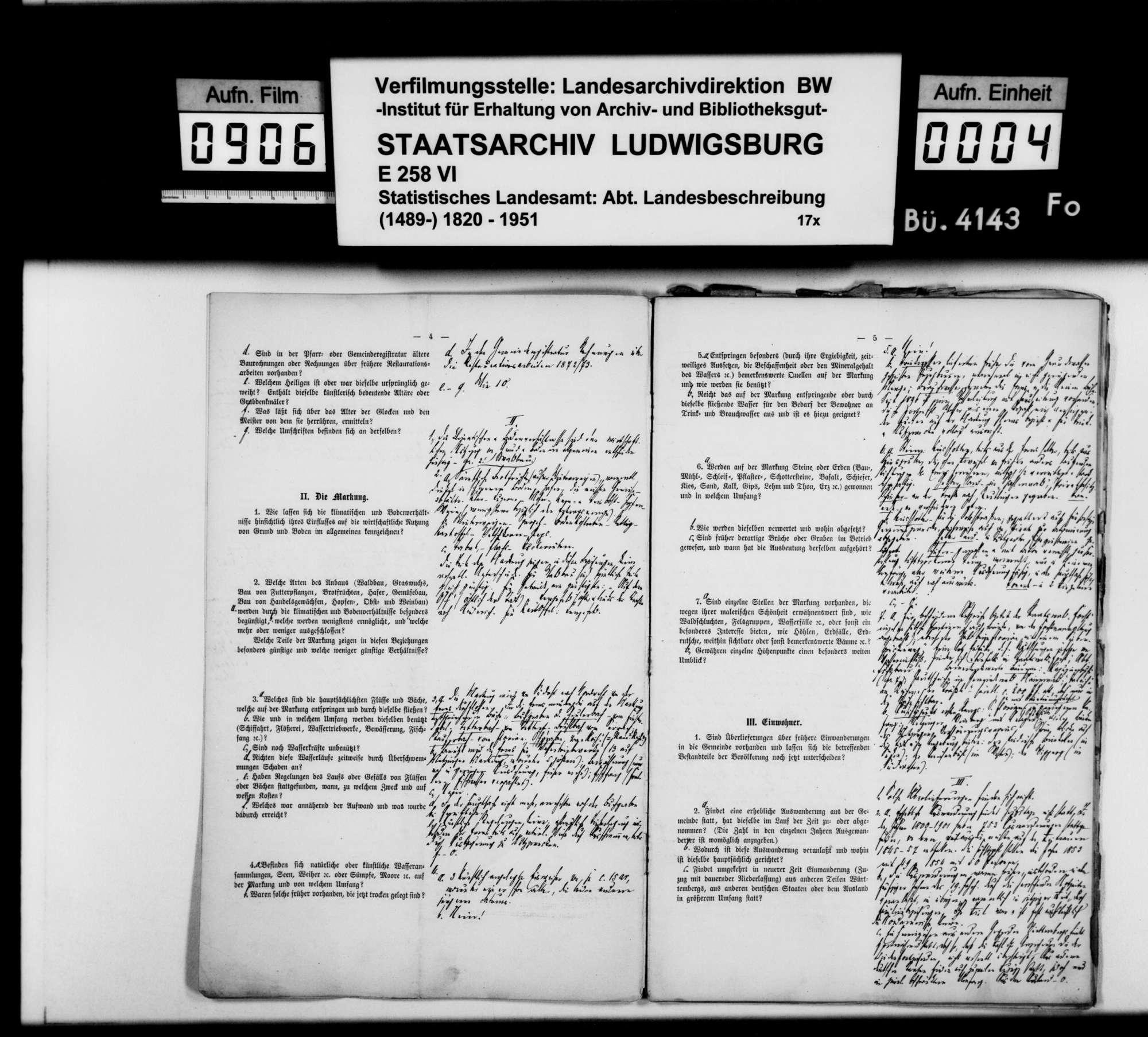 Ortsbeschreibung von Metzingen mit Fragebogen (wie 4125), Bild 3