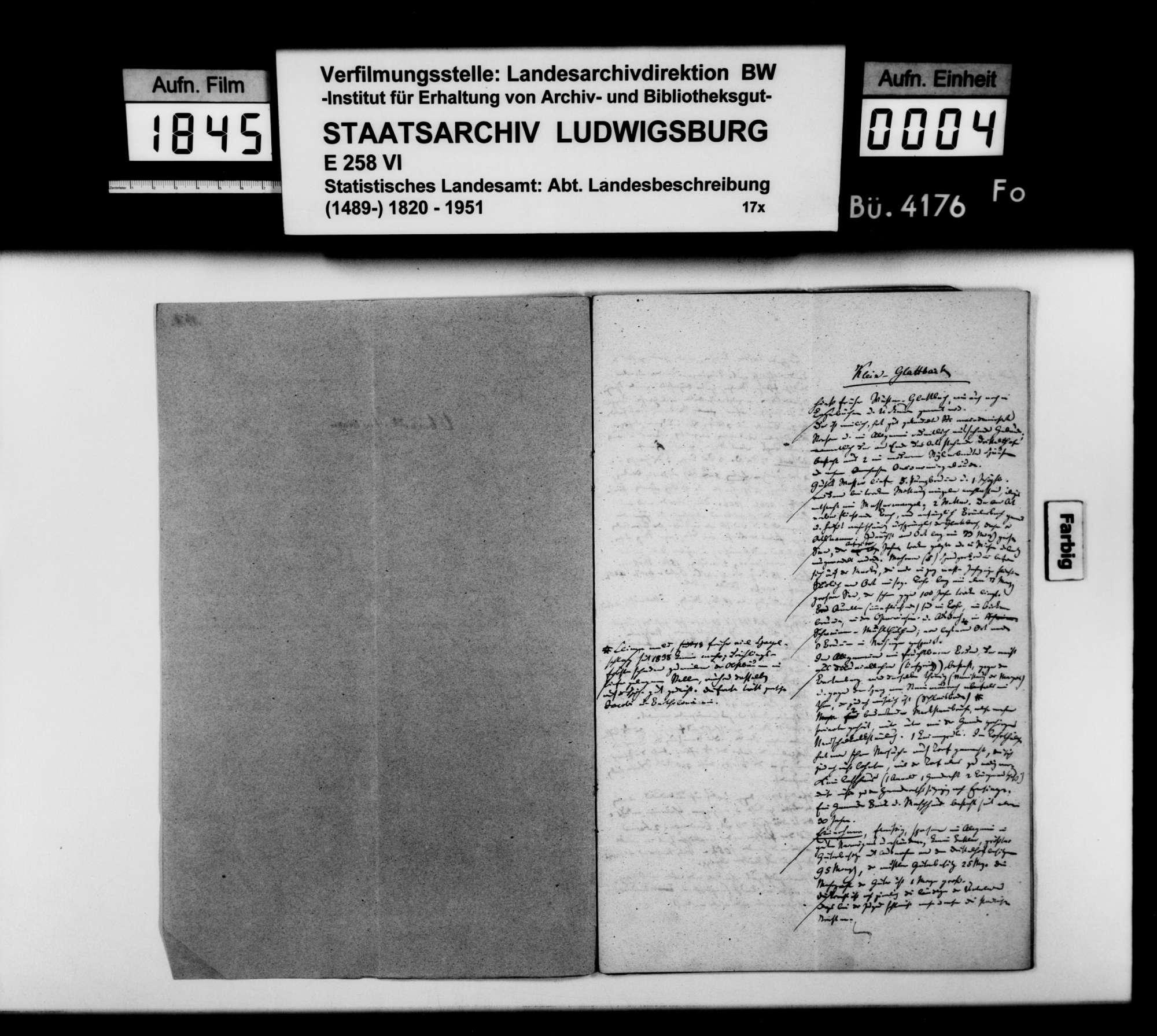 Beschreibung der politischen Gemeinden und Filialorte des Oberamts durch den Finanzassessor Karl Eduard Paulus, Bild 2
