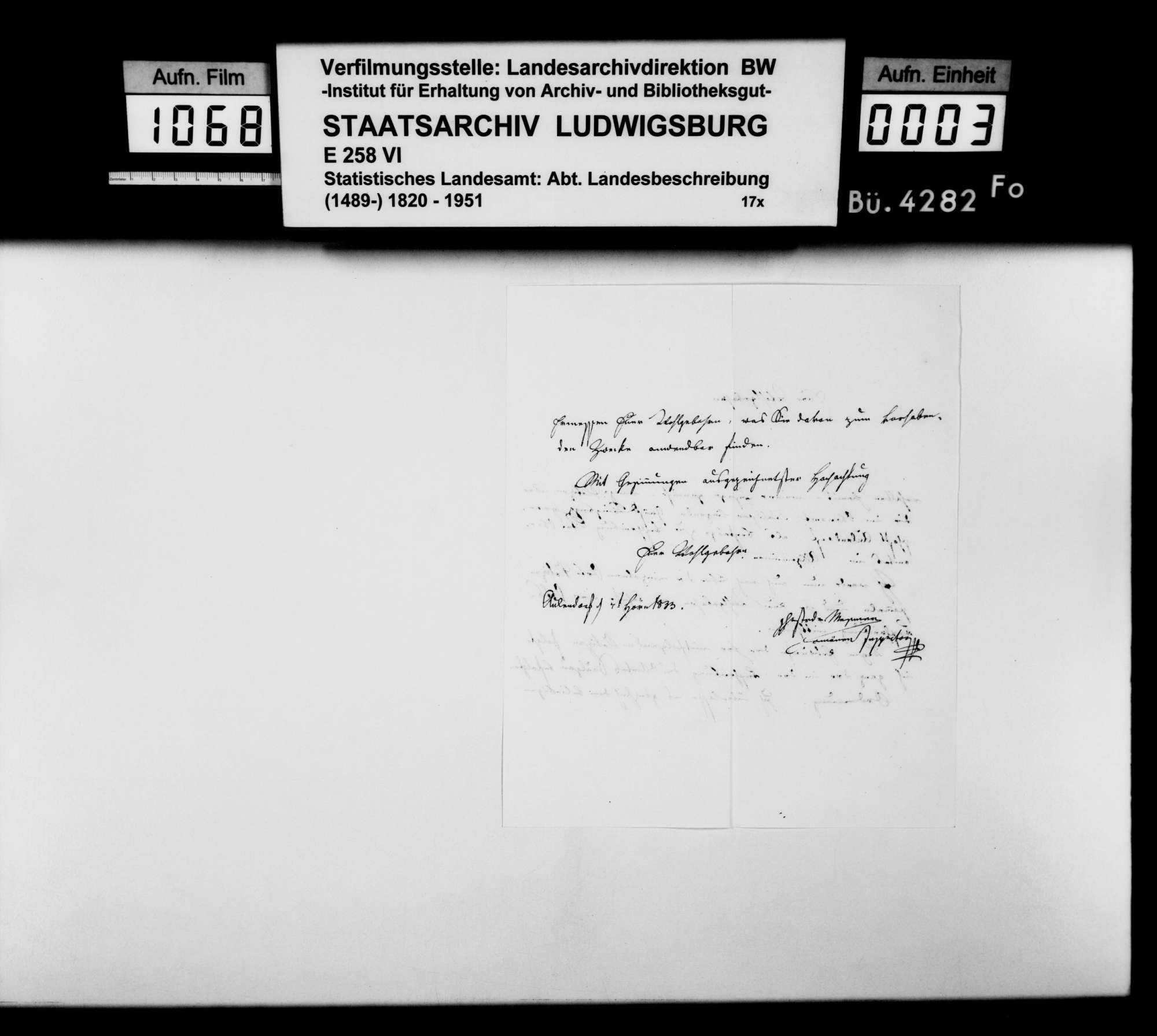 Gräflich-königseggischer Domäneninspektor Mesmer über die ehemalige Herrschaft Aulendorf, als Beitrag zur OAB, Bild 2