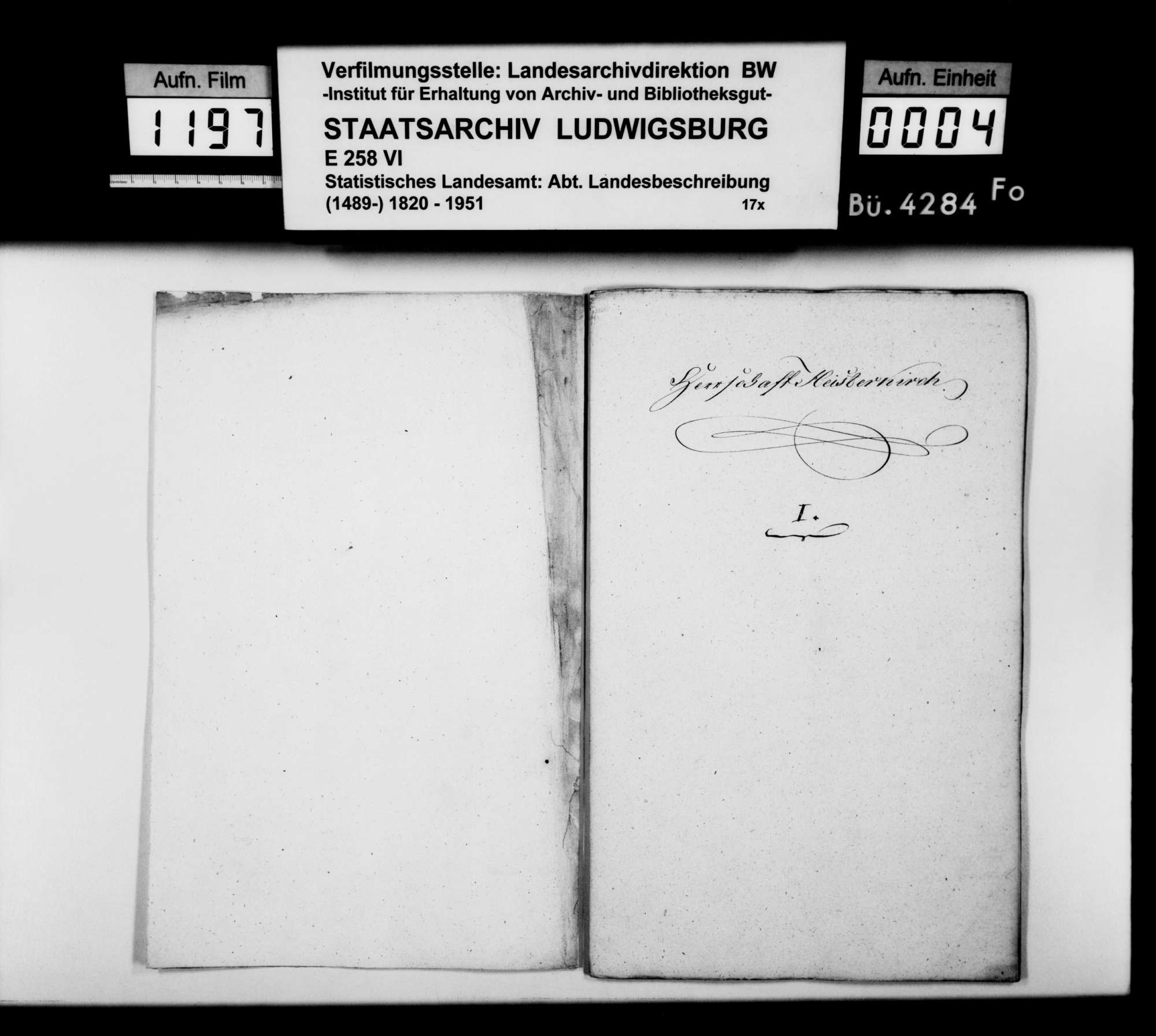 Beschreibung der ehemaligen Herrschaft Waldsee, von Hofrat Baur und Archivar Bodent aus Wolfegg, Bild 2