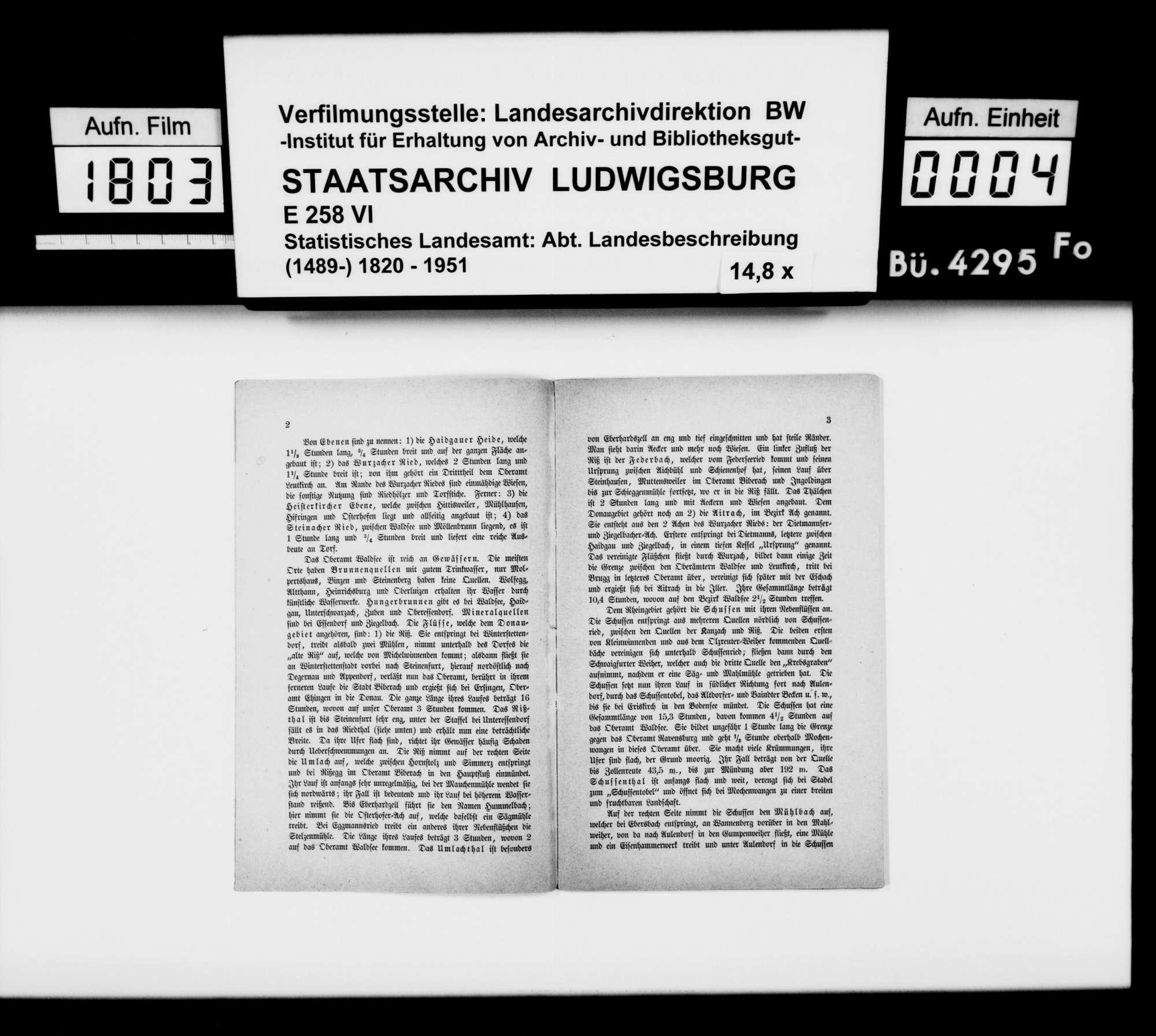 Sammlung von Drucken für eine Neubearbeitung der OAB, Bild 3
