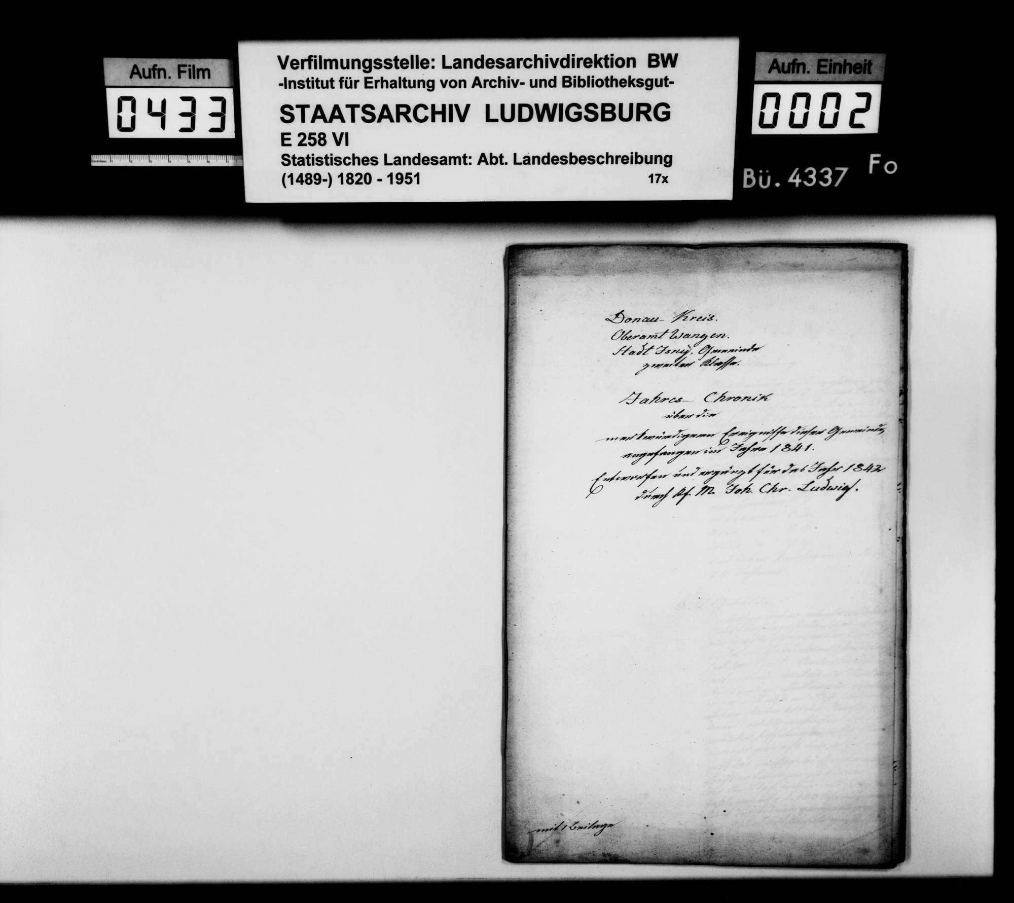 Desgleichen für 1842, Bild 1
