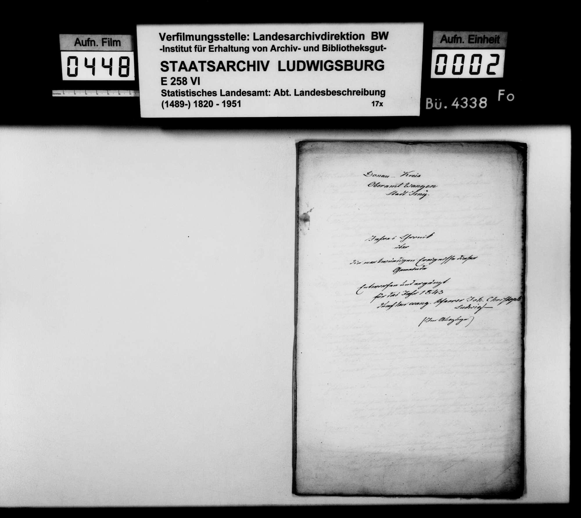 Desgleichen für 1843, Bild 1