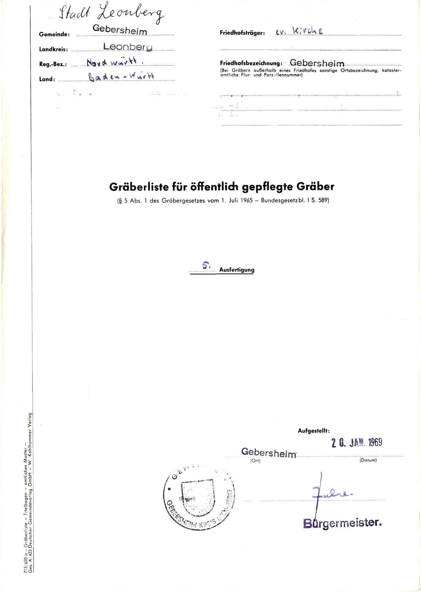 Gebersheim, Bild 1