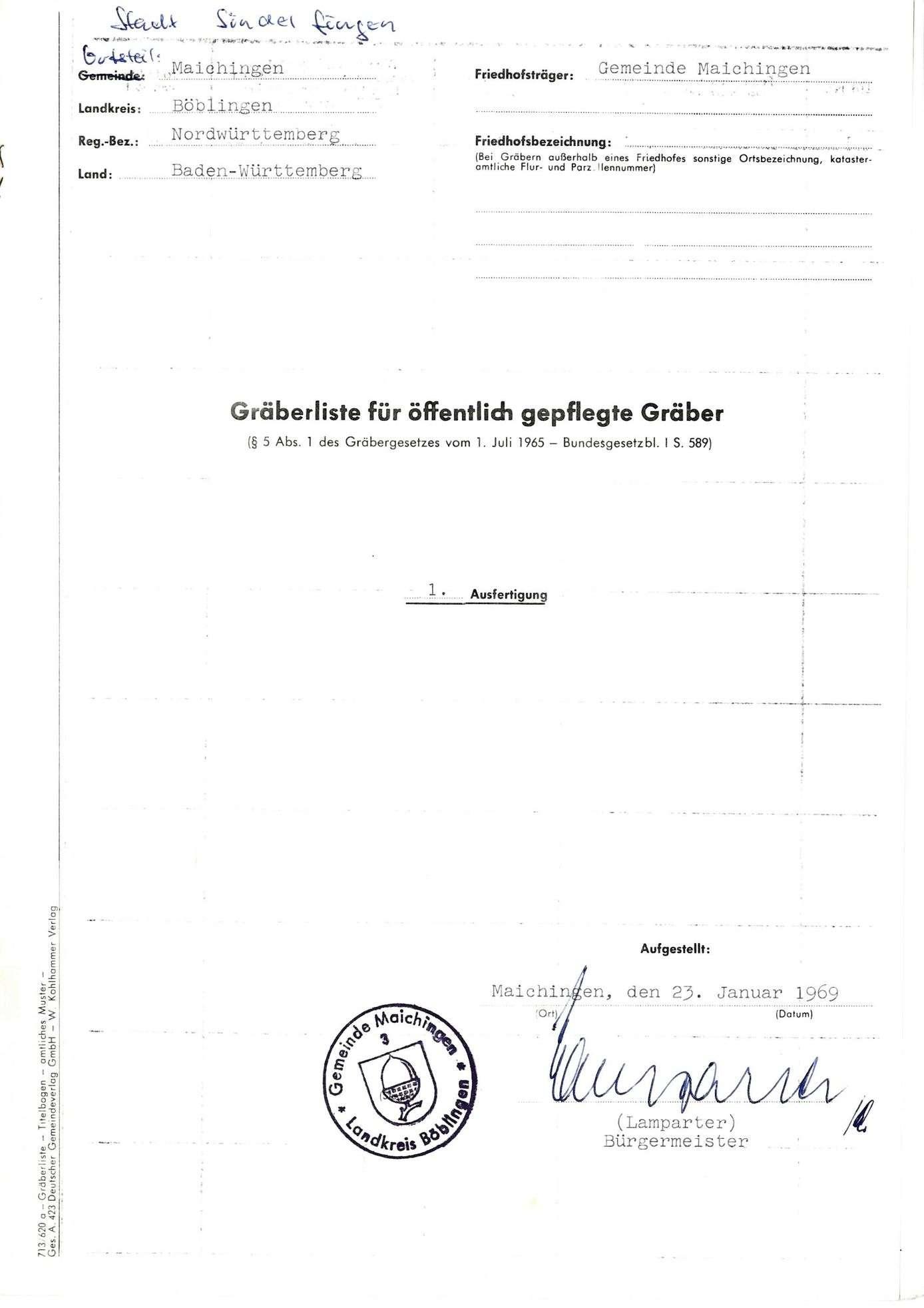 Maichingen, Bild 1