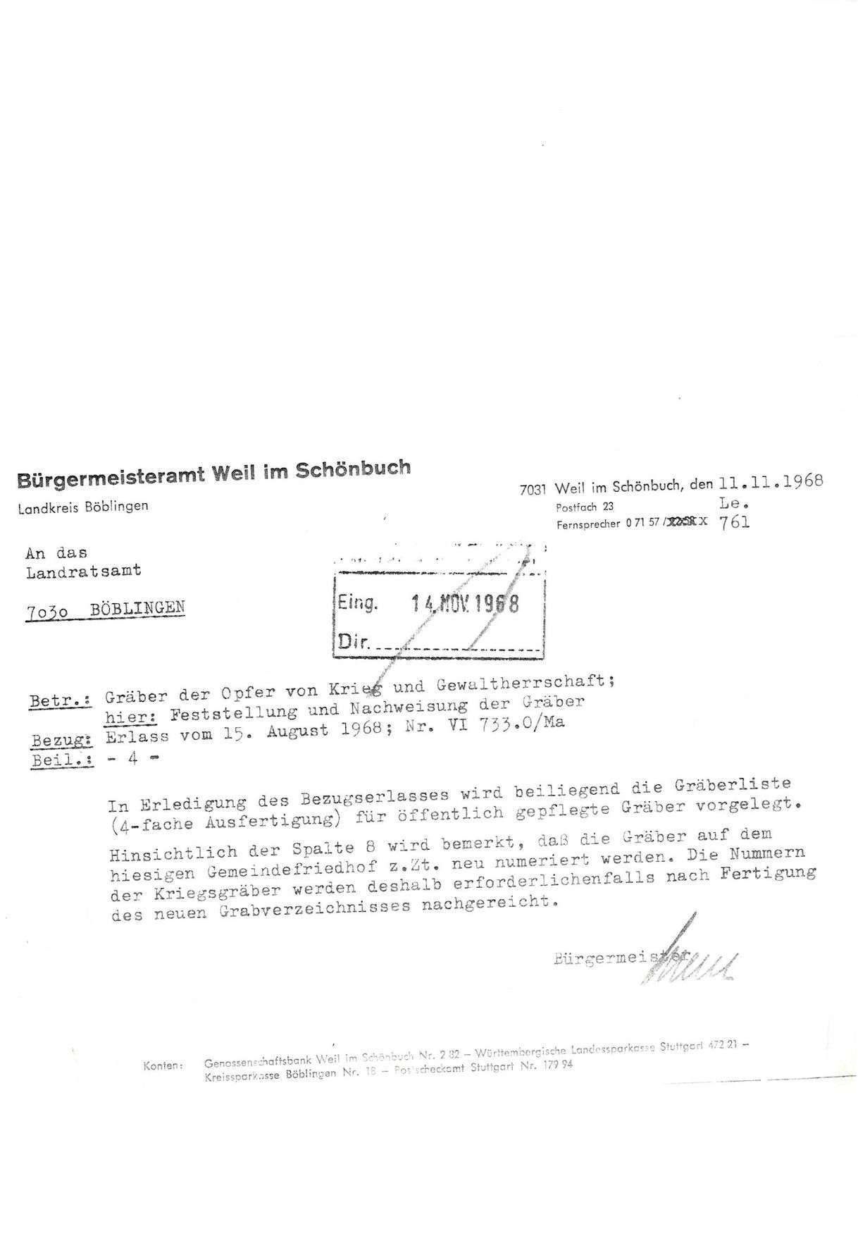 Gemeindefriedhof Weil im Schönbuch, Bild 3