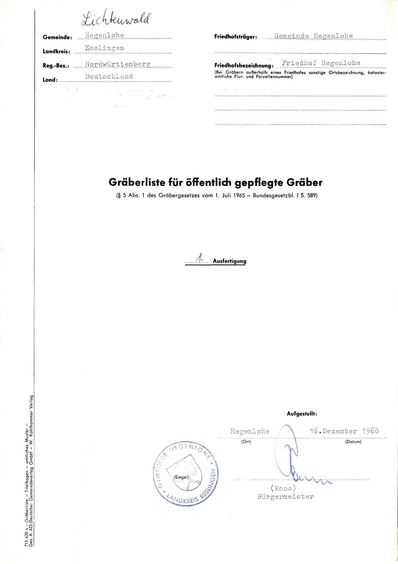 Hegenlohe, Bild 1