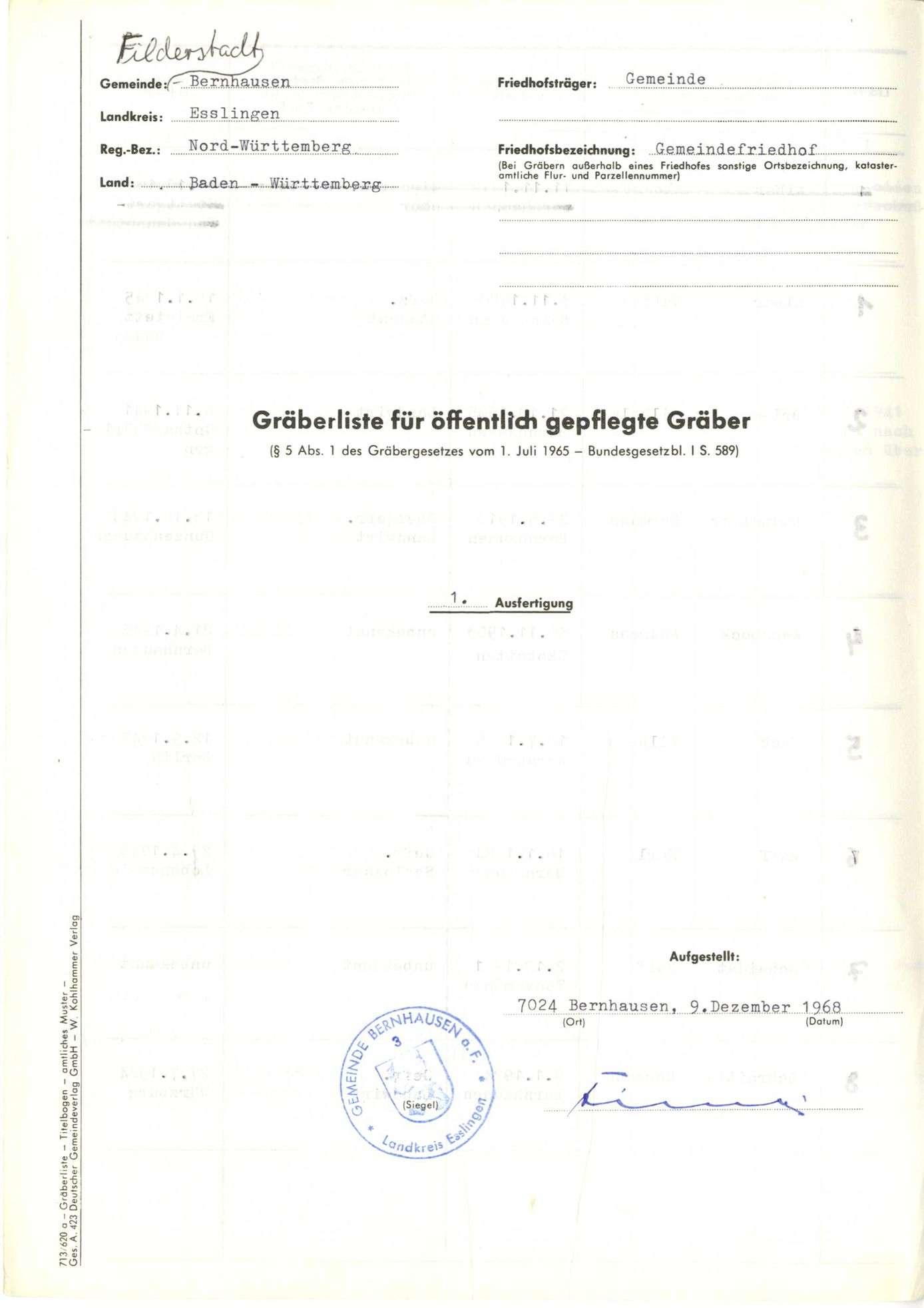 Bernhausen, Bild 1