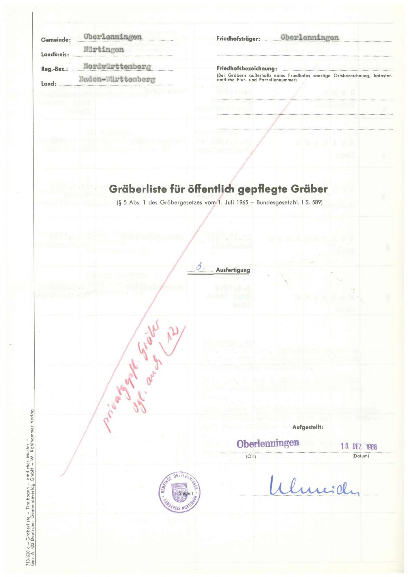 Oberlenningen, Bild 1