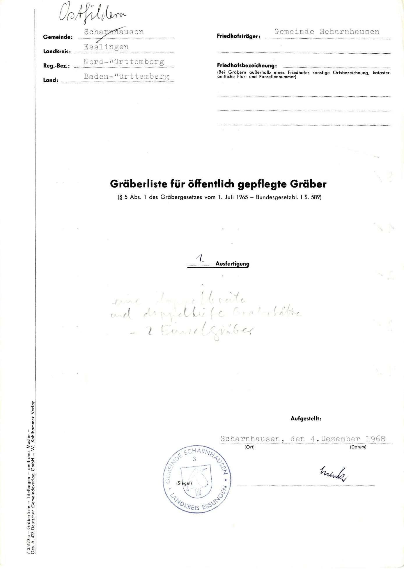 Scharnhausen, Bild 1