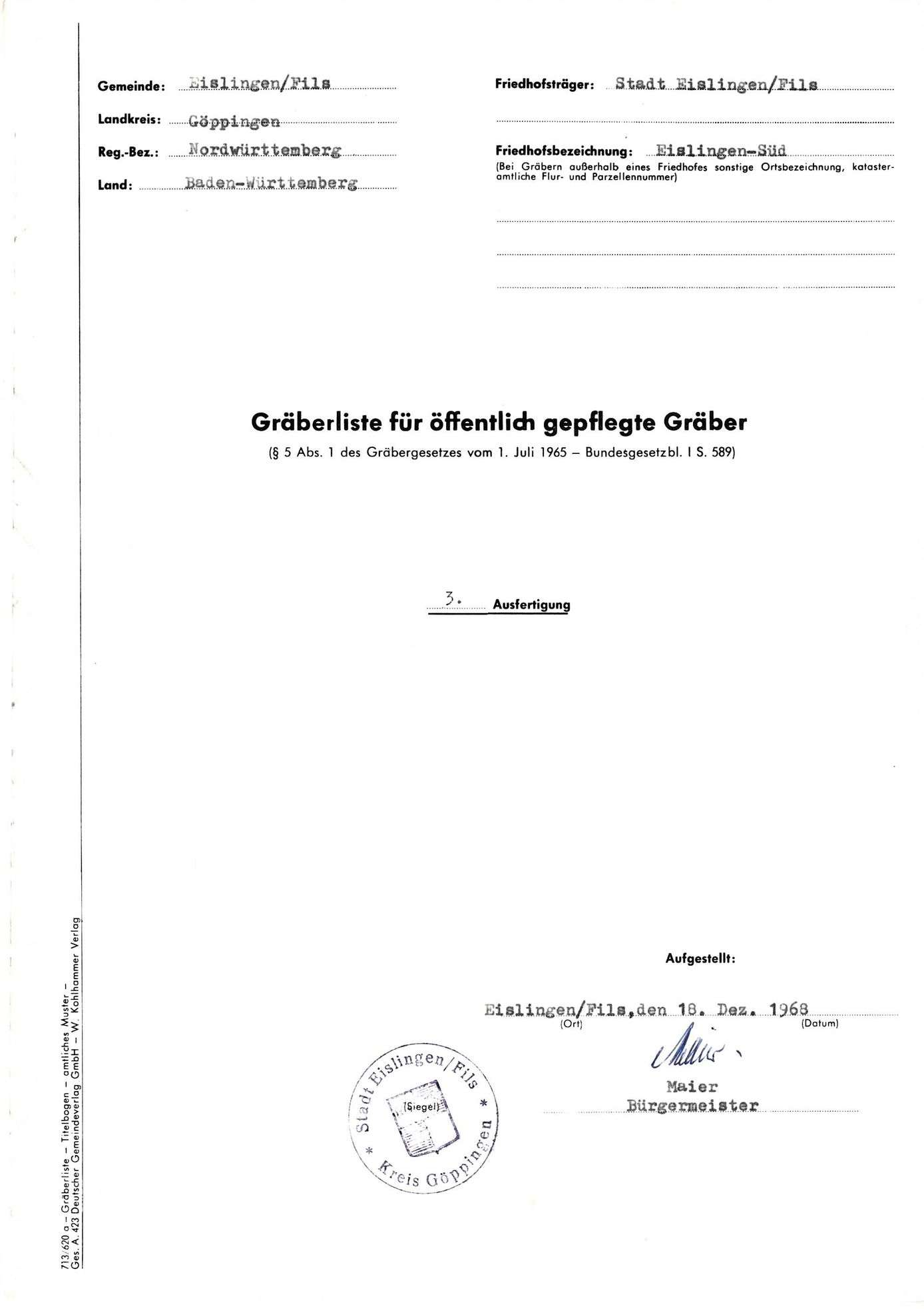 Eislingen-Süd, Bild 1
