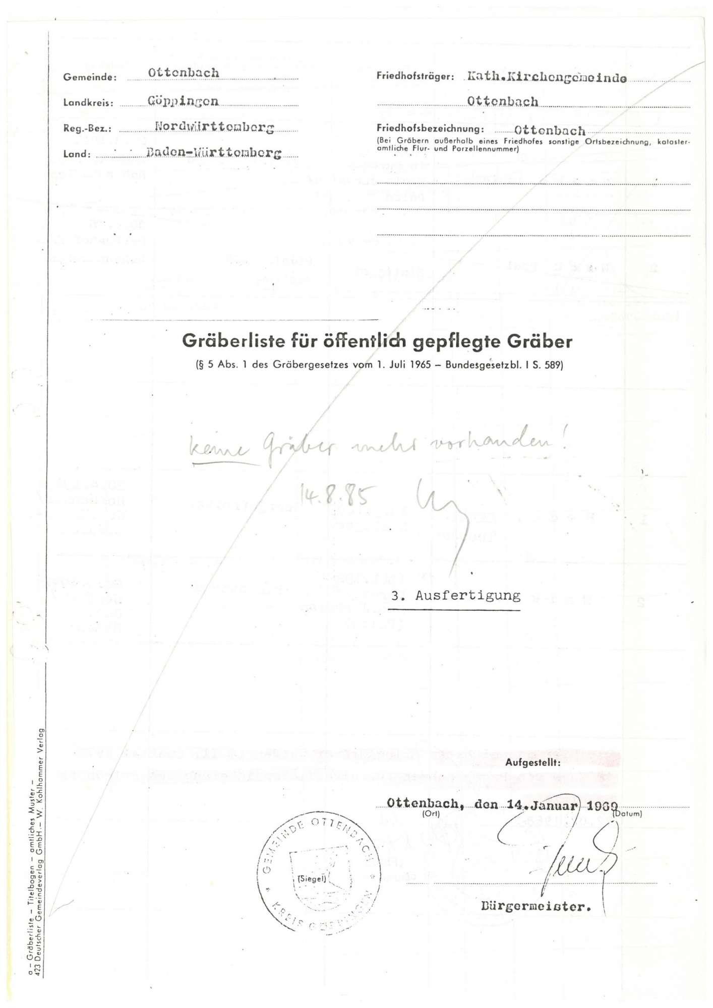 Ottenbach, Bild 1