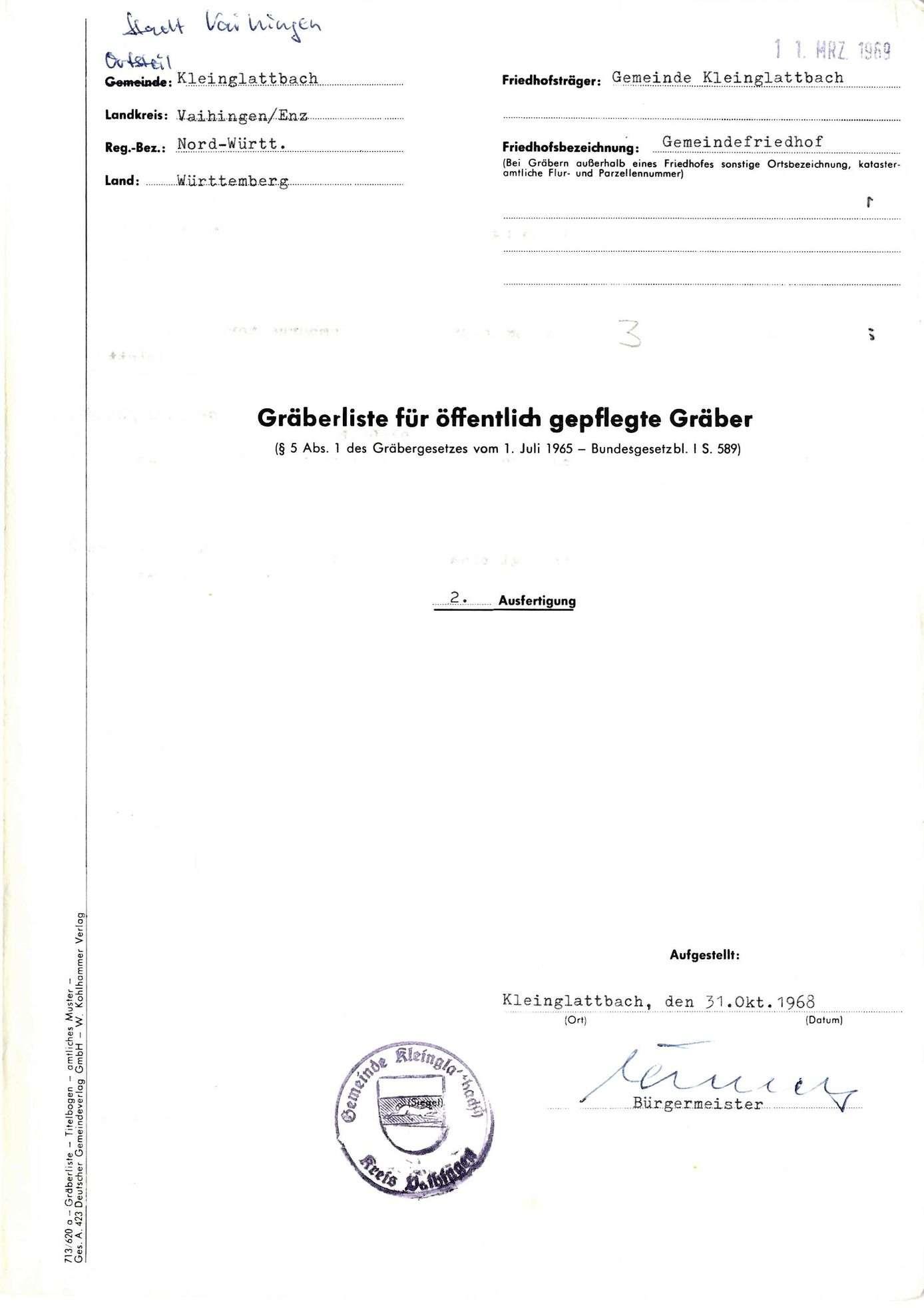 Kleinglattbach, Bild 1