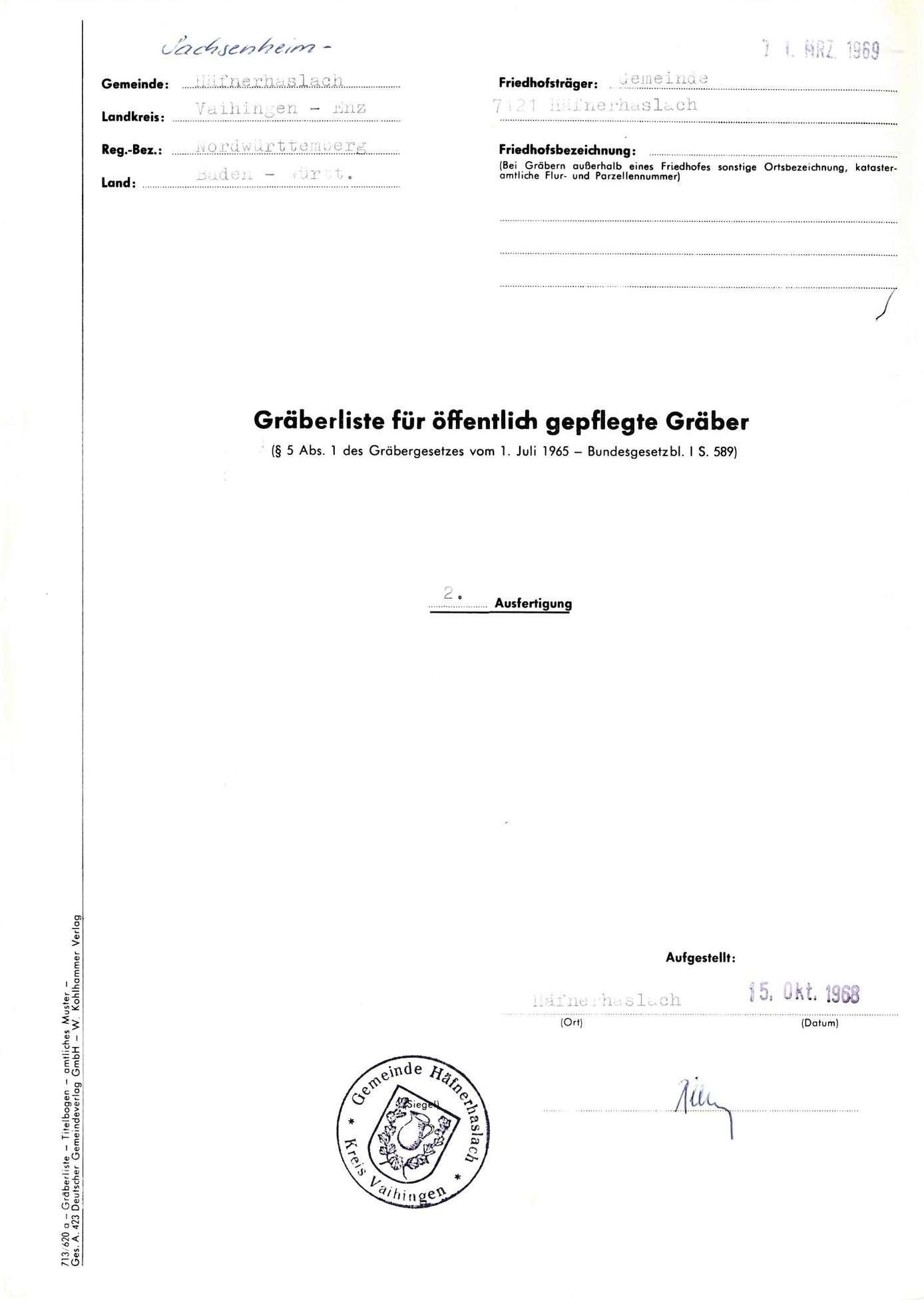 Häfnerhaslach, Bild 1