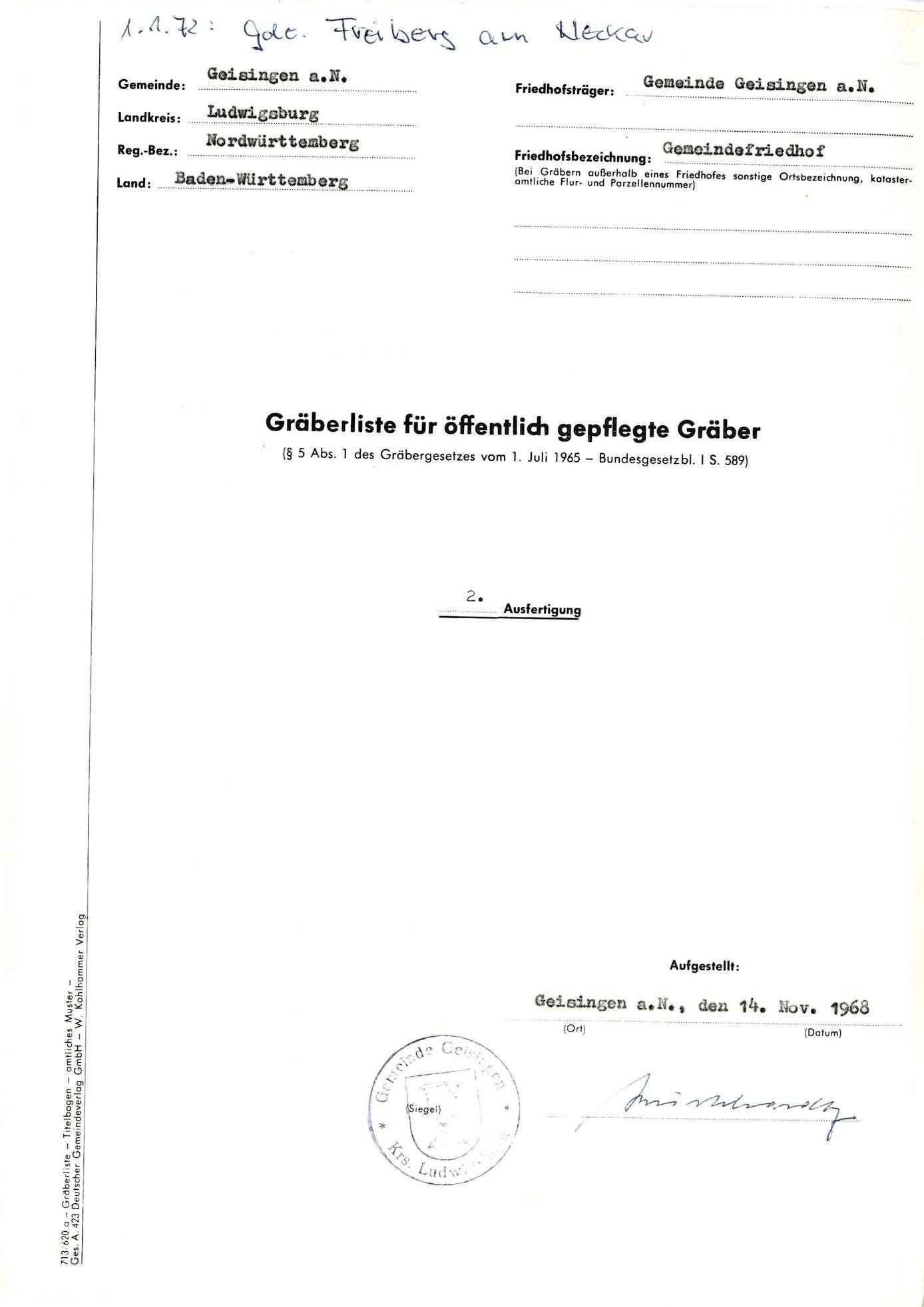 Geisingen a. N., Bild 1