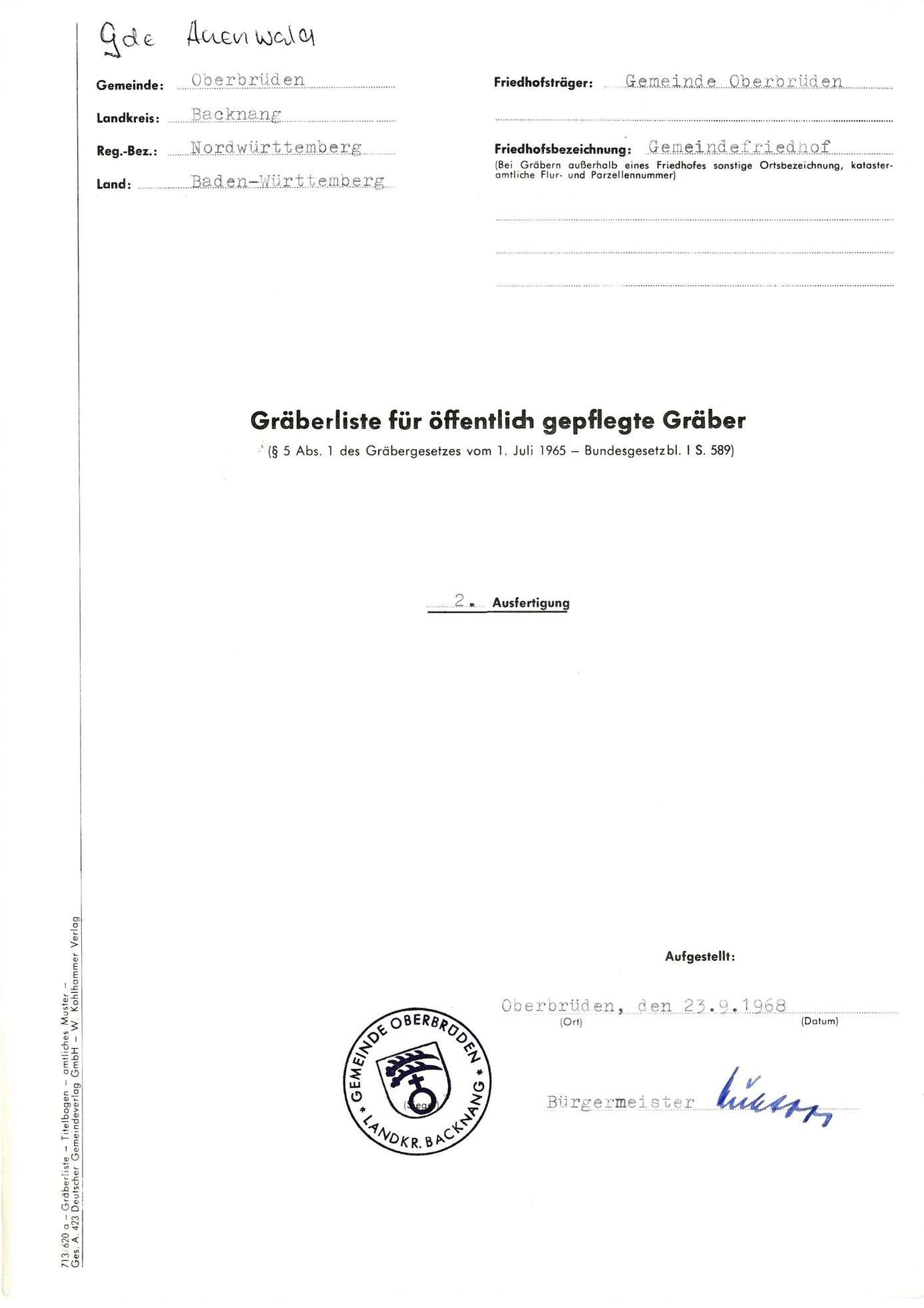 Oberbrüden, Bild 1