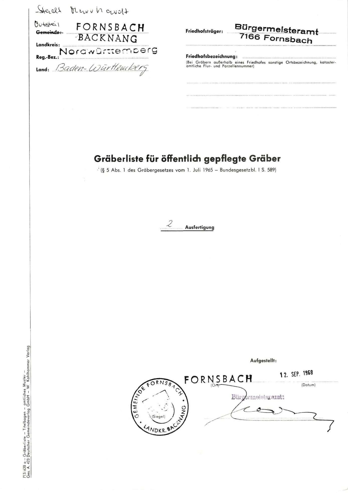 Fornsbach, Bild 1