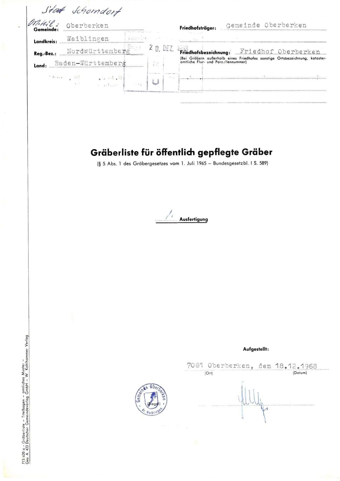 Oberberken, Bild 1