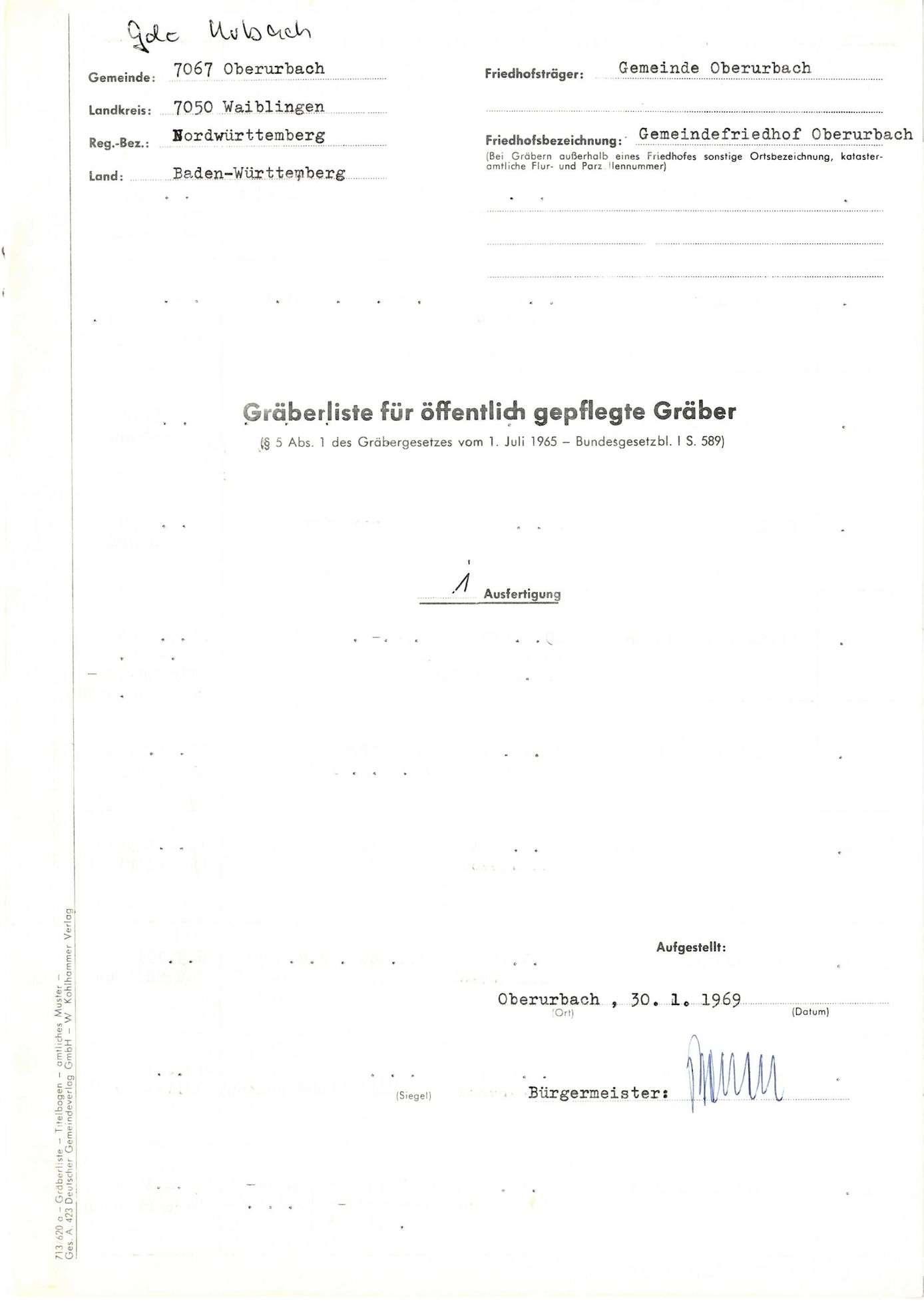 Oberurbach, Bild 1
