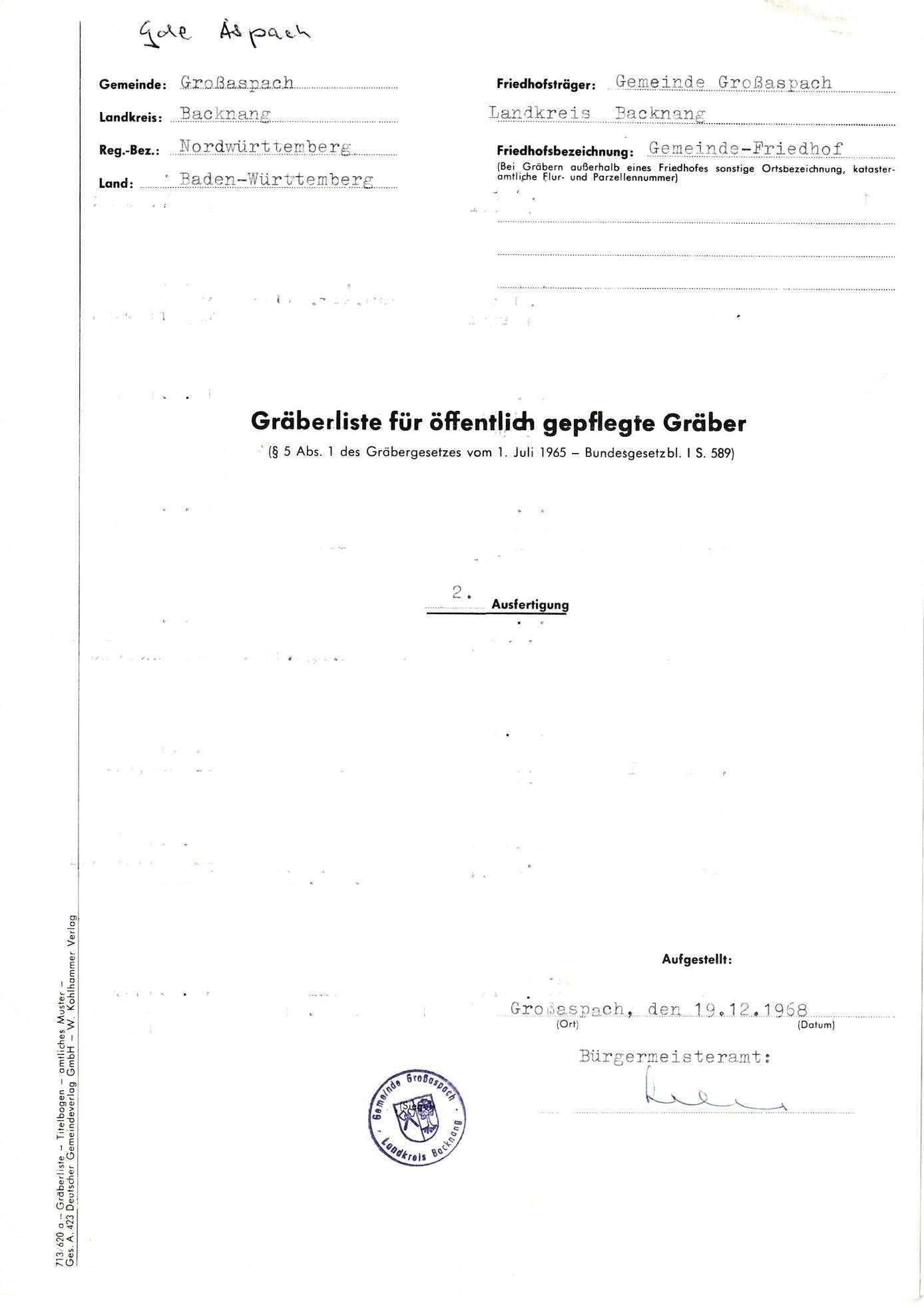 Großaspach, Bild 1