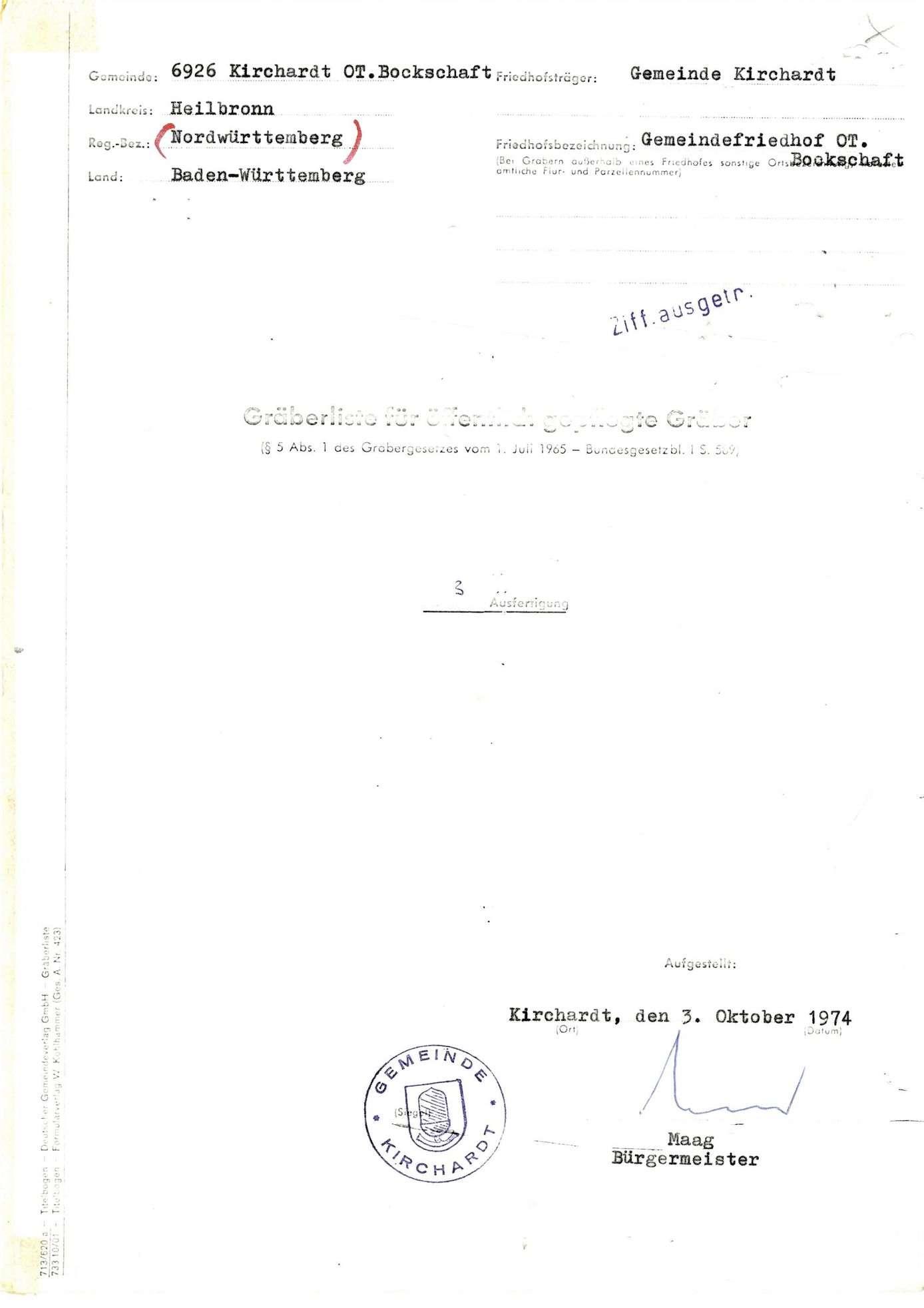 Bockschaft, Bild 1