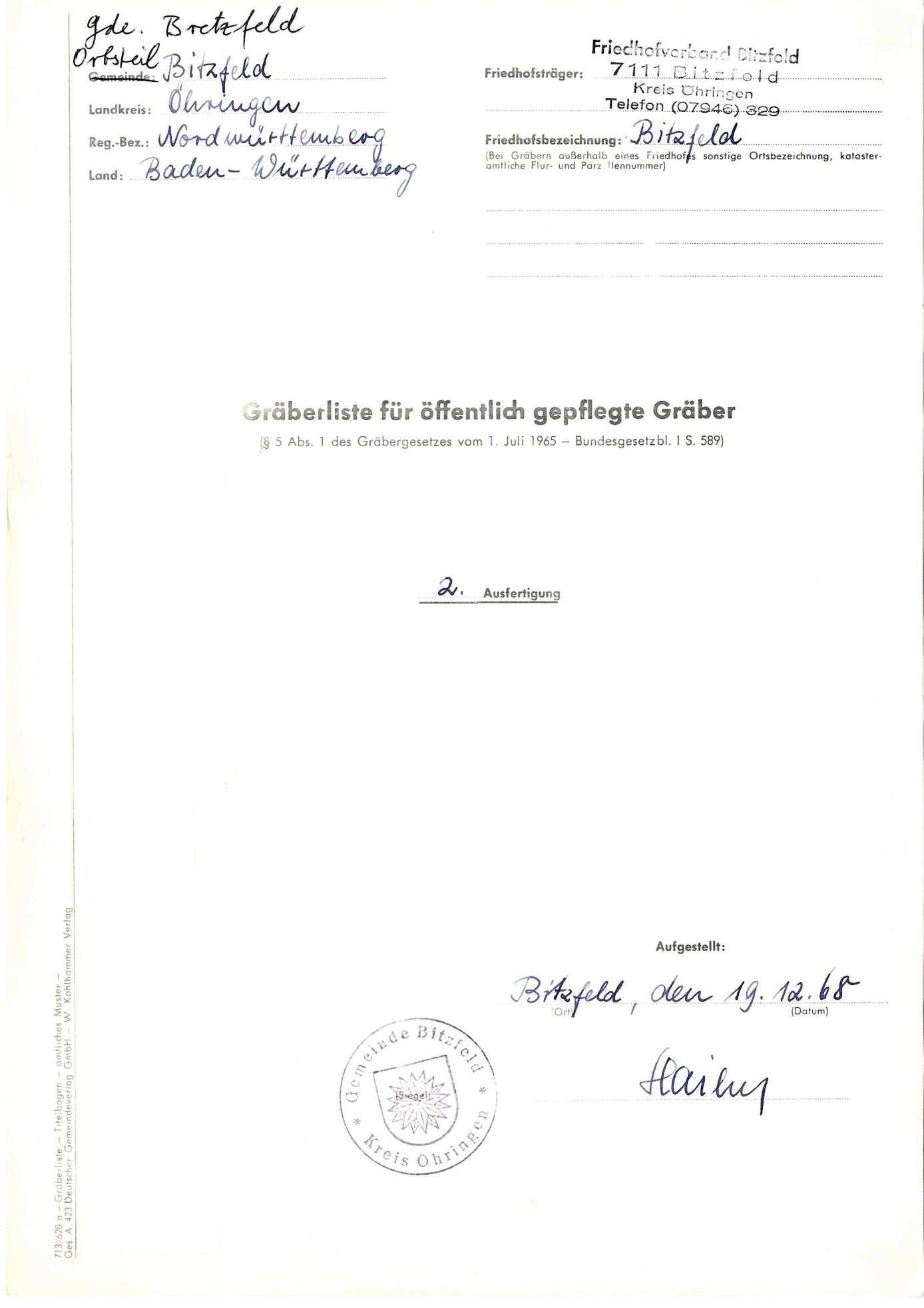 Bitzfeld, Bild 1