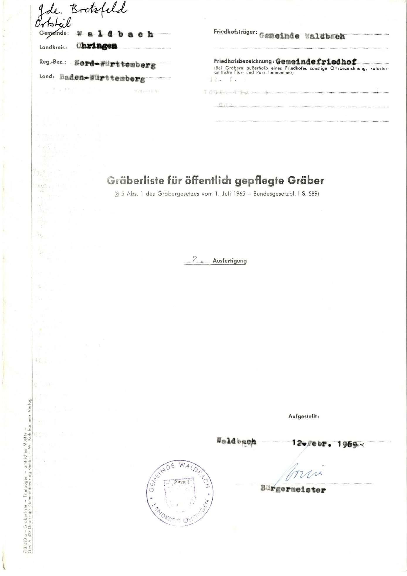 Waldbach, Bild 1