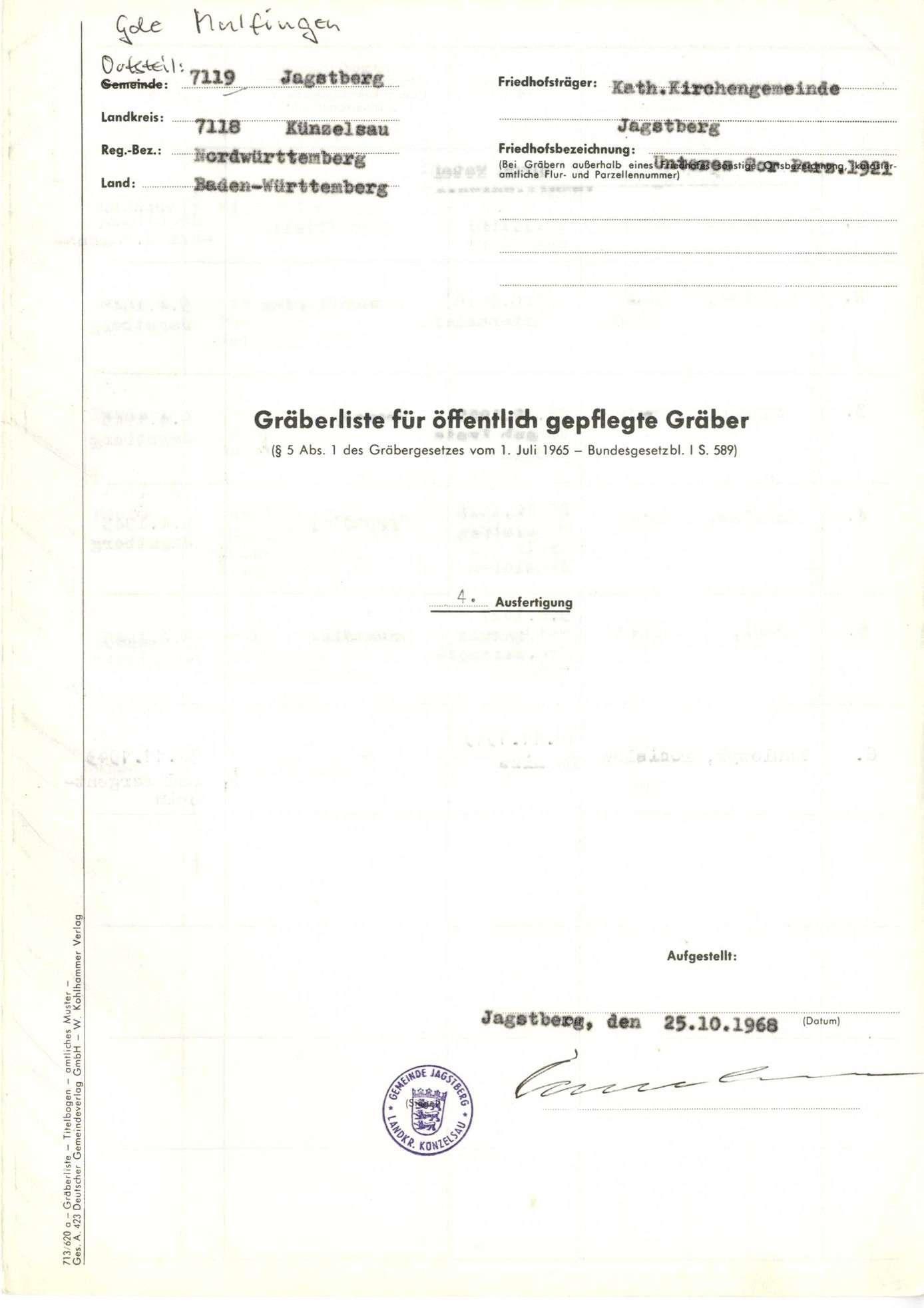 Jagstberg, Bild 1