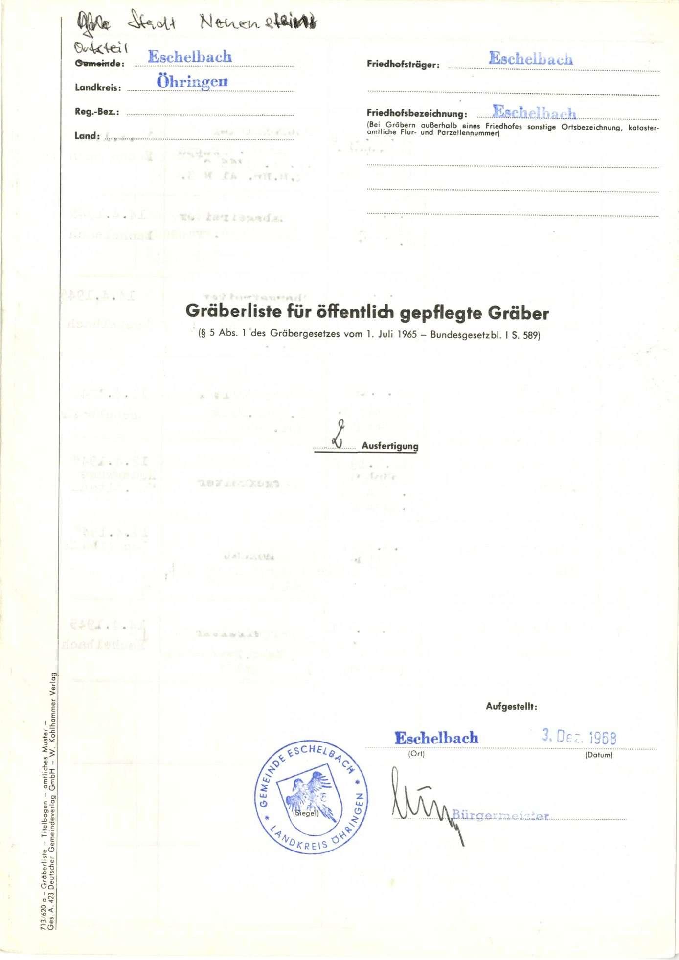 Eschelbach, Bild 1