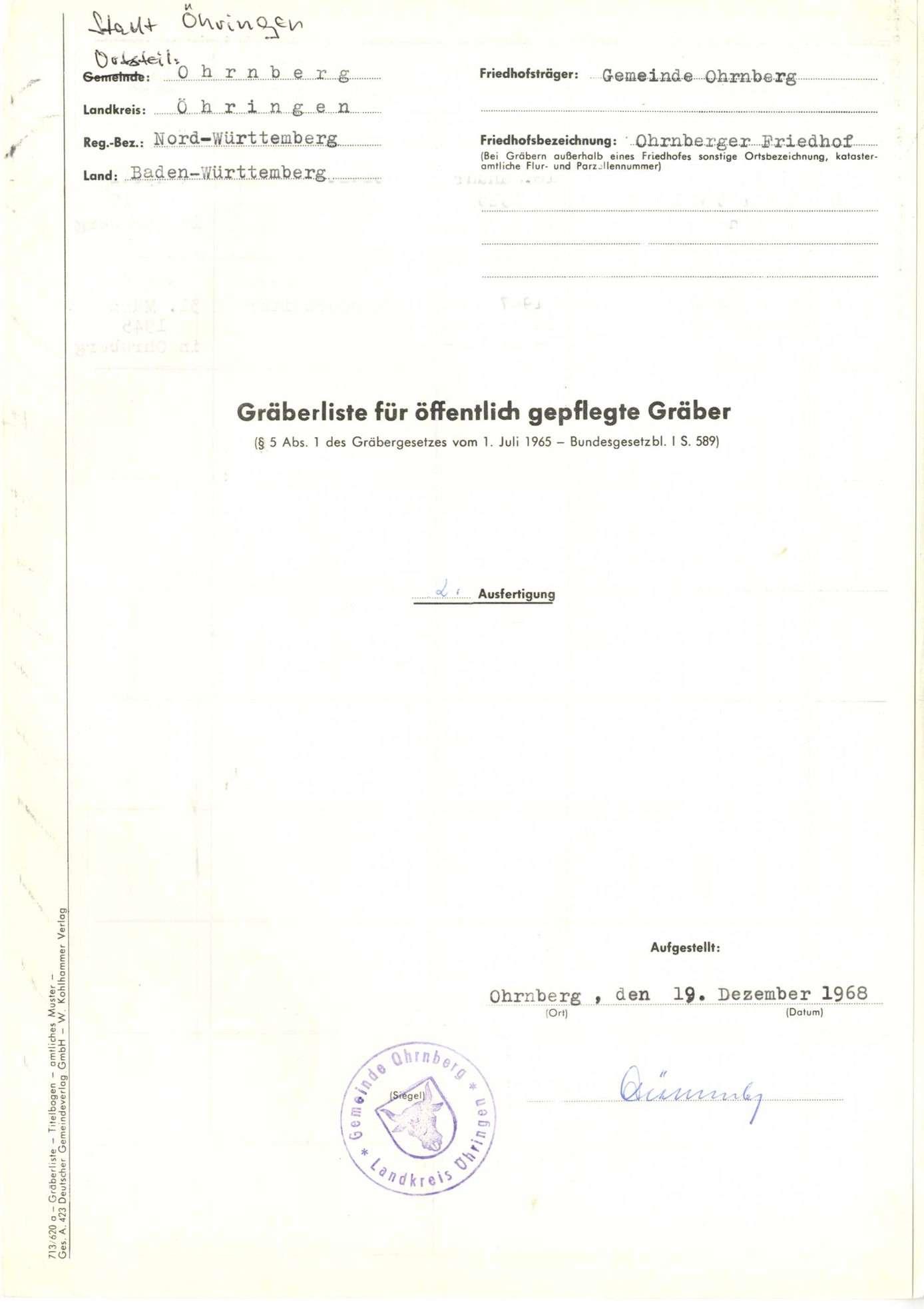 Ohrnberg, Bild 1
