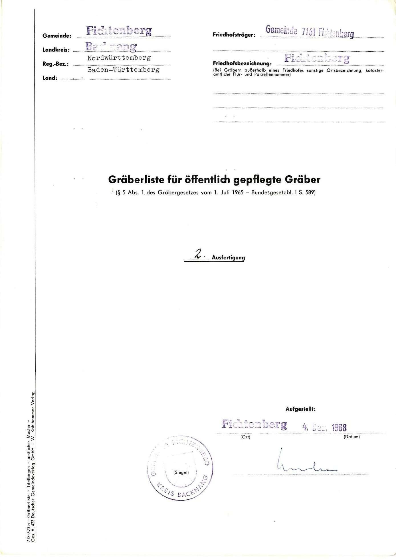 Fichtenberg, Bild 1