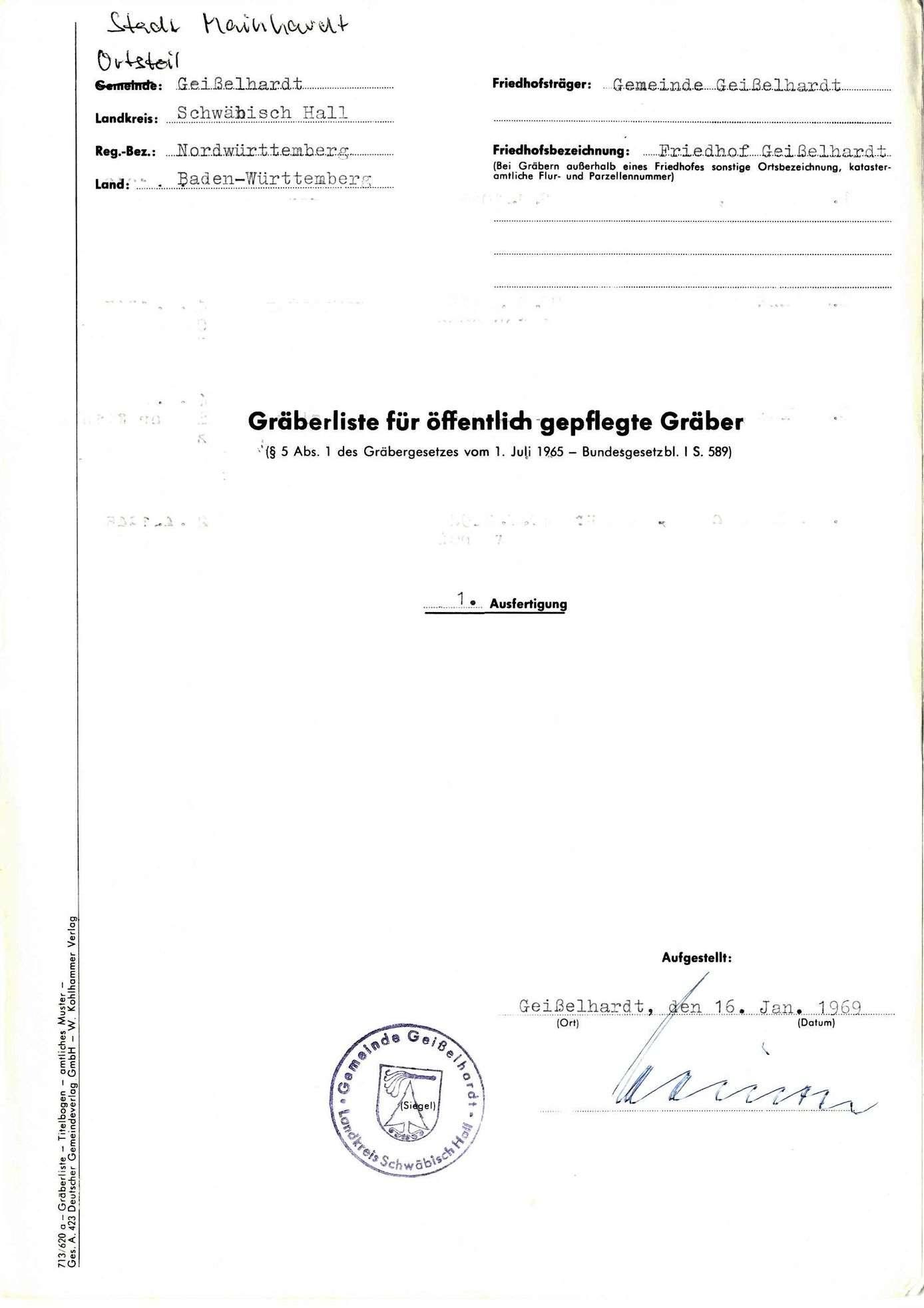Geißelhardt, Bild 1