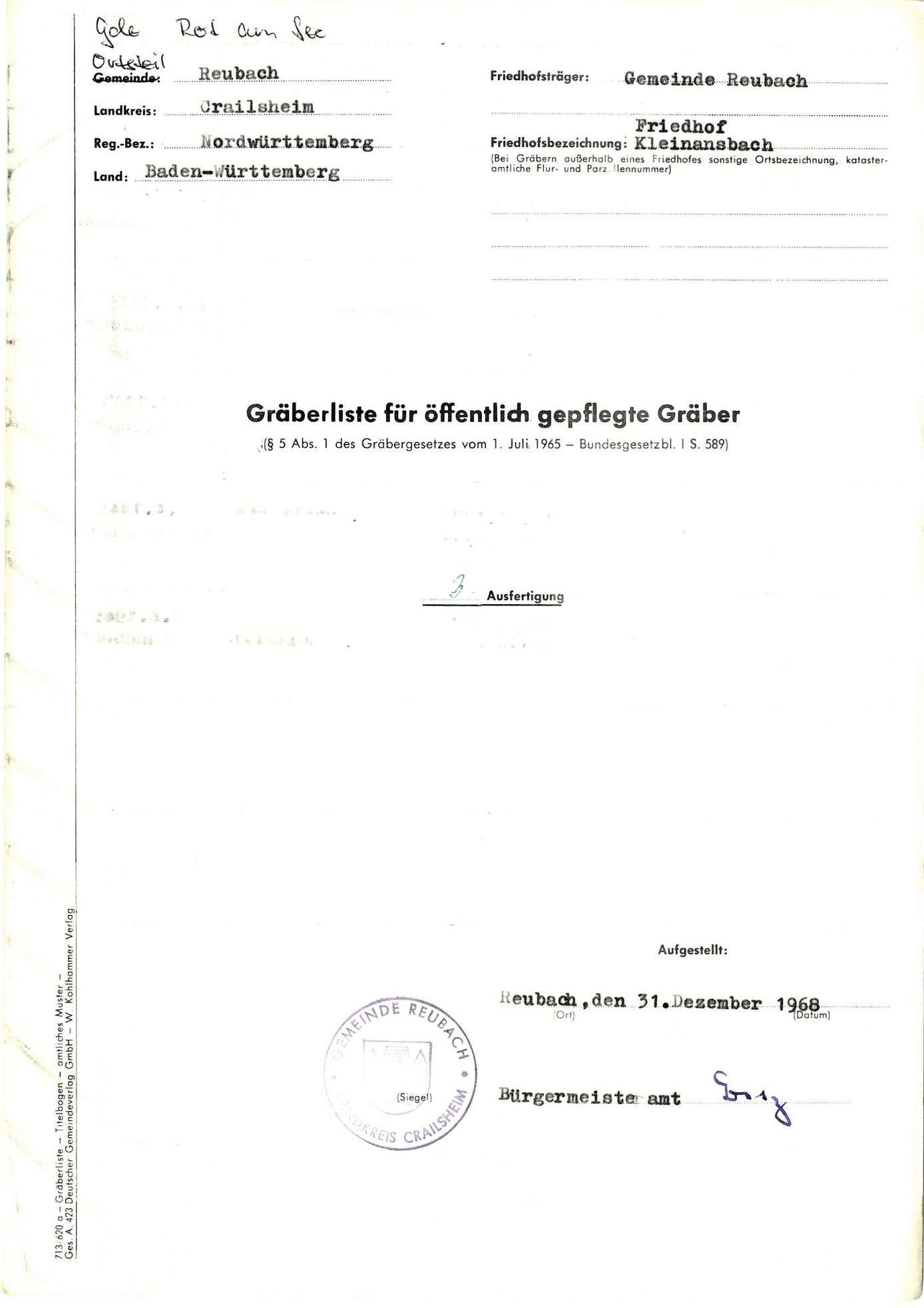 Reubach-Kleinansbach, Bild 1