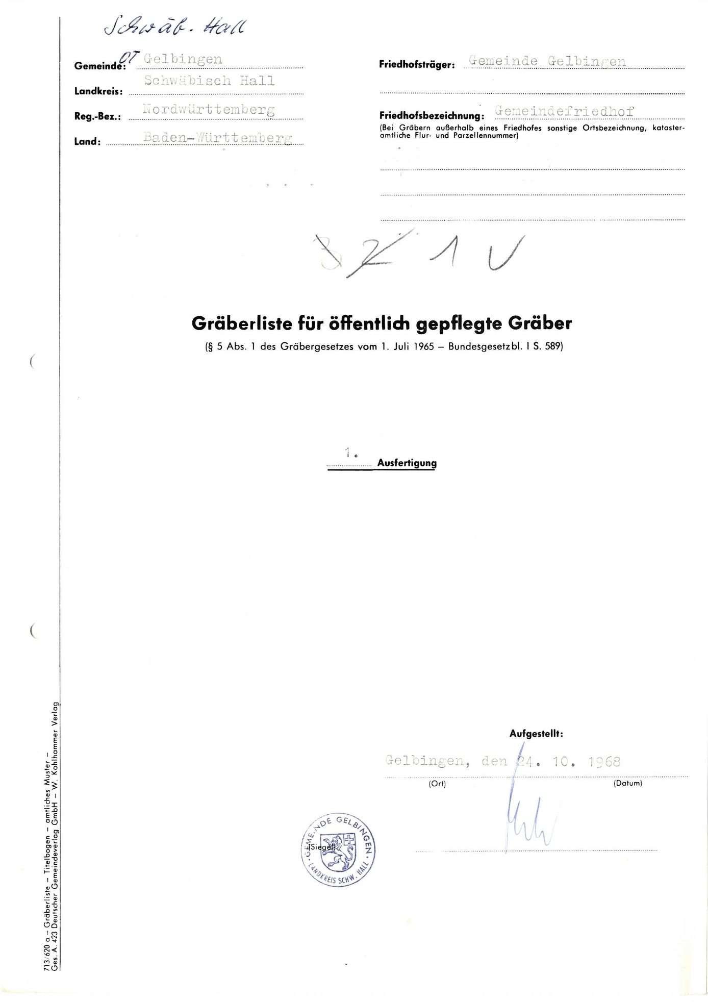 Gelbingen, Bild 1