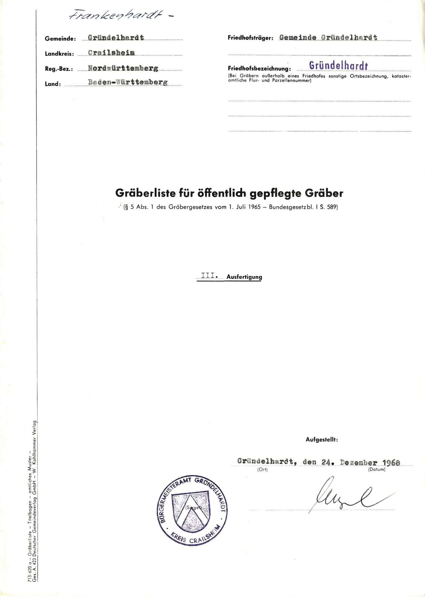Gründelhardt, Bild 1