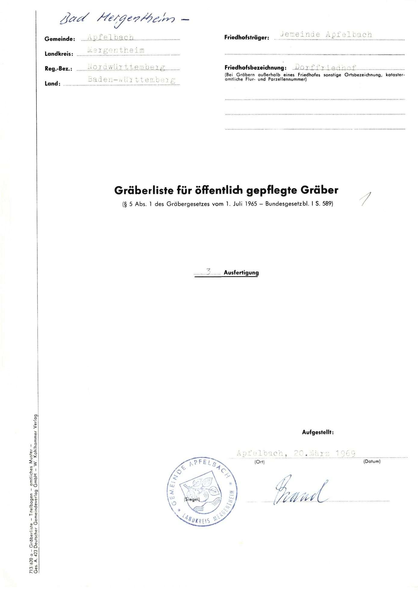 Apfelbach, Bild 1