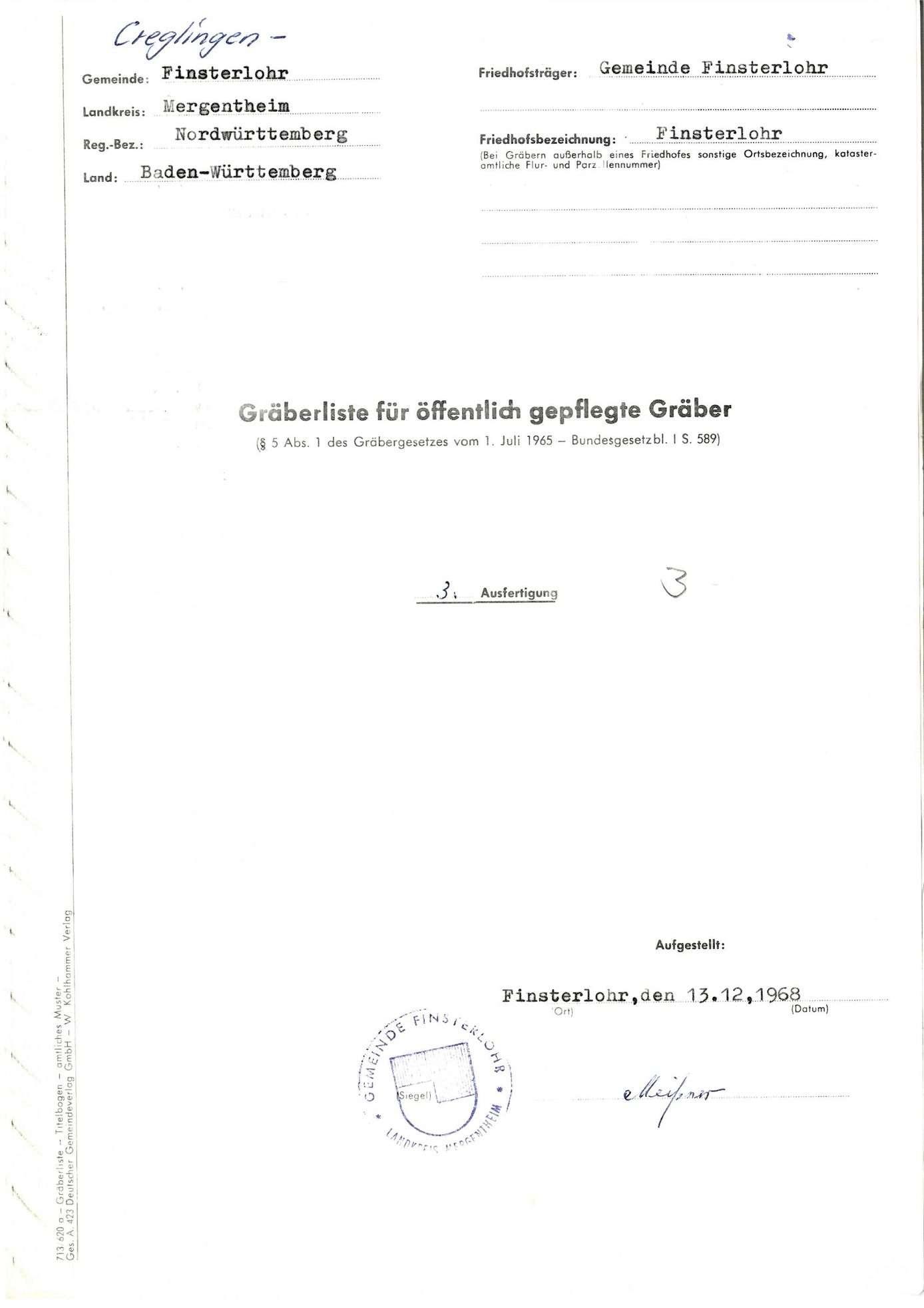 Finsterlohr, Bild 1