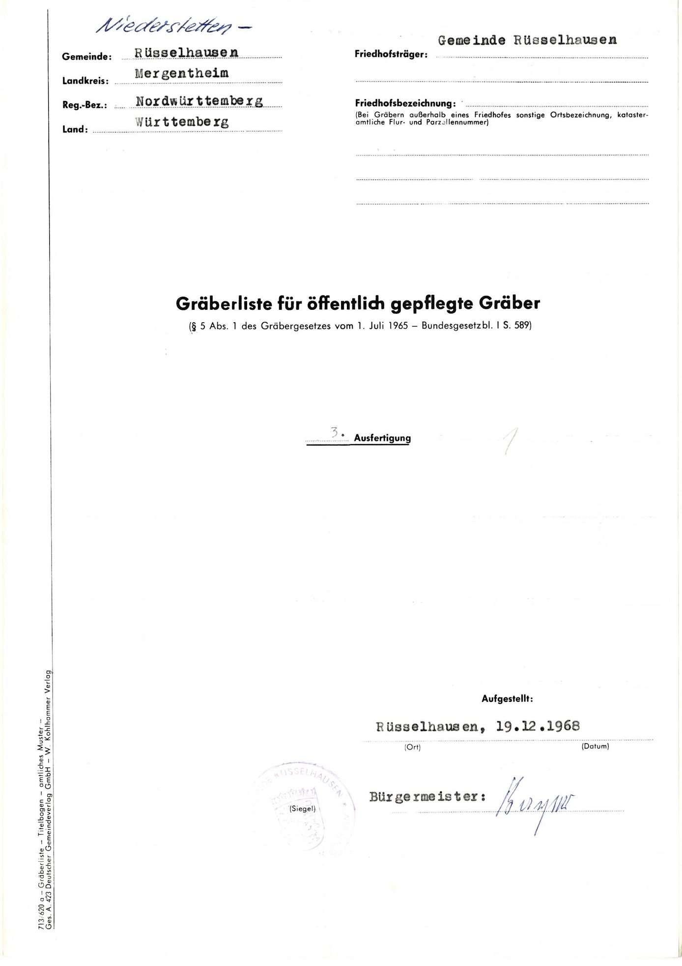 Rüsselhausen, Bild 1