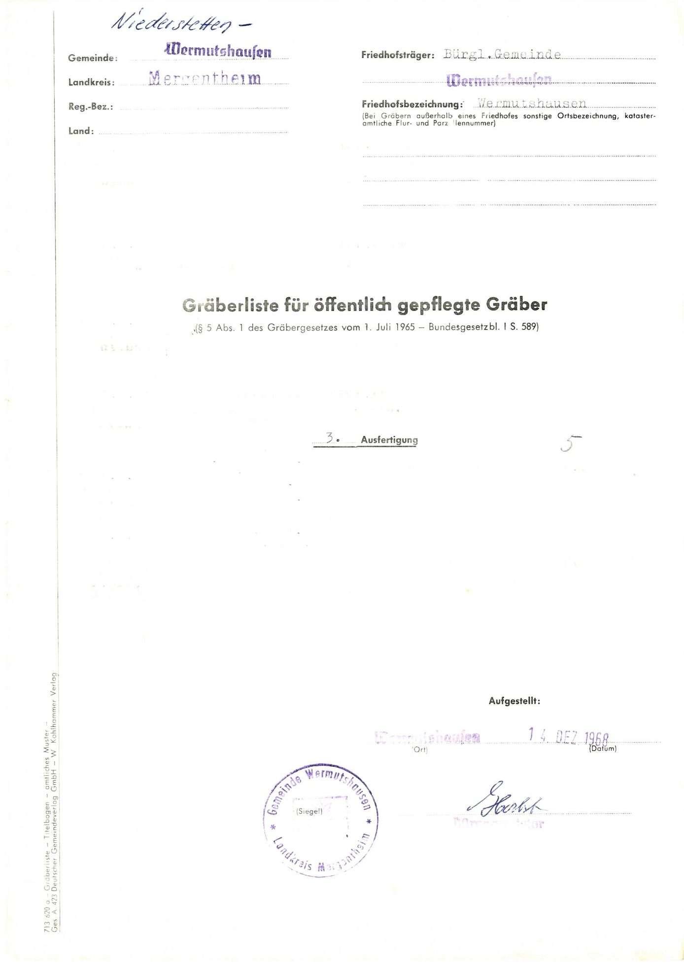 Wermutshausen, Bild 1