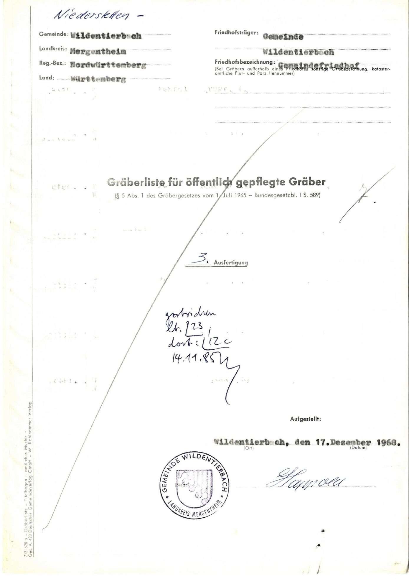 Wildentierbach, Bild 1
